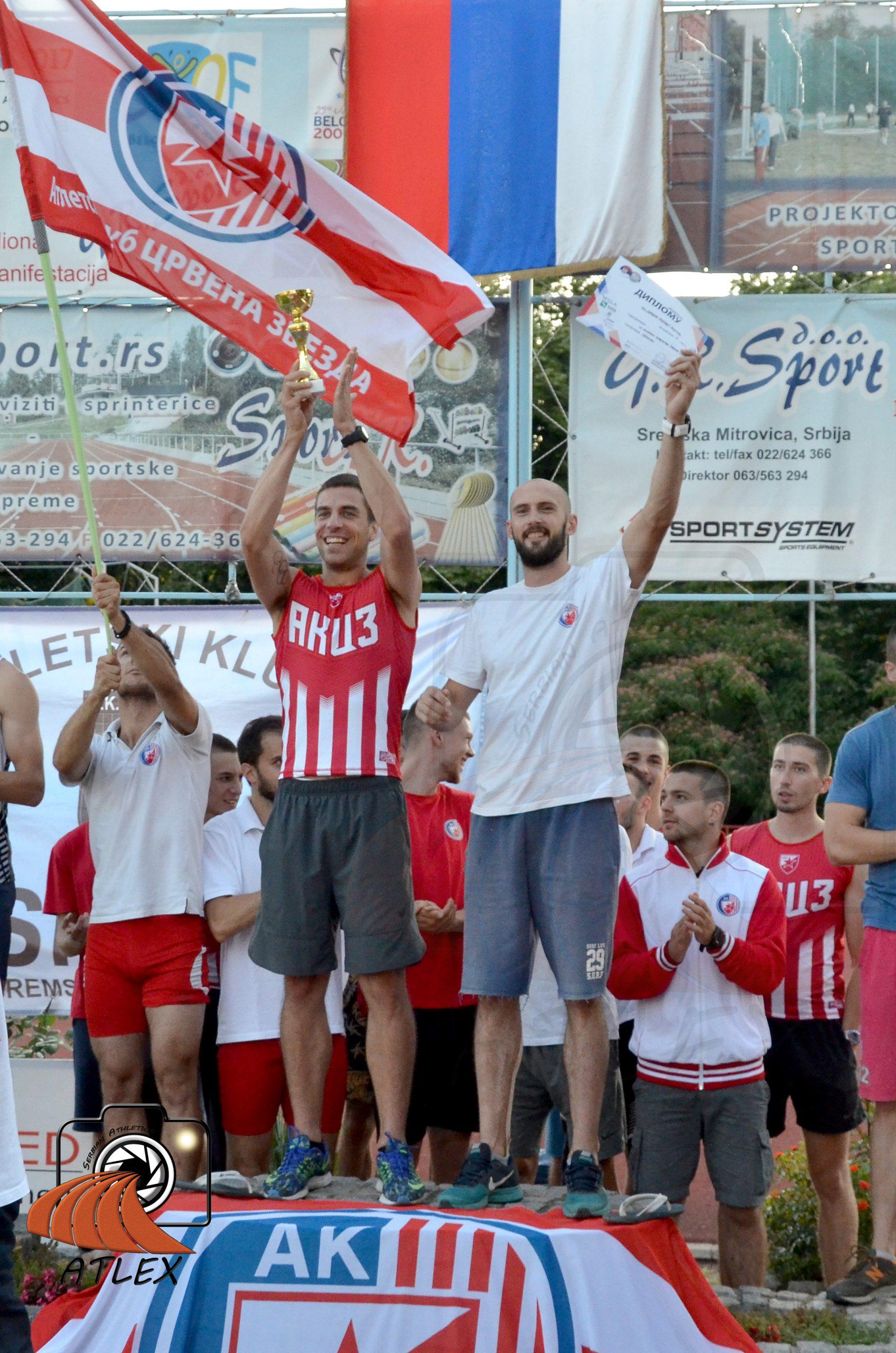 Milan Ristić i Marko Vozab, AK Crvena zvezda