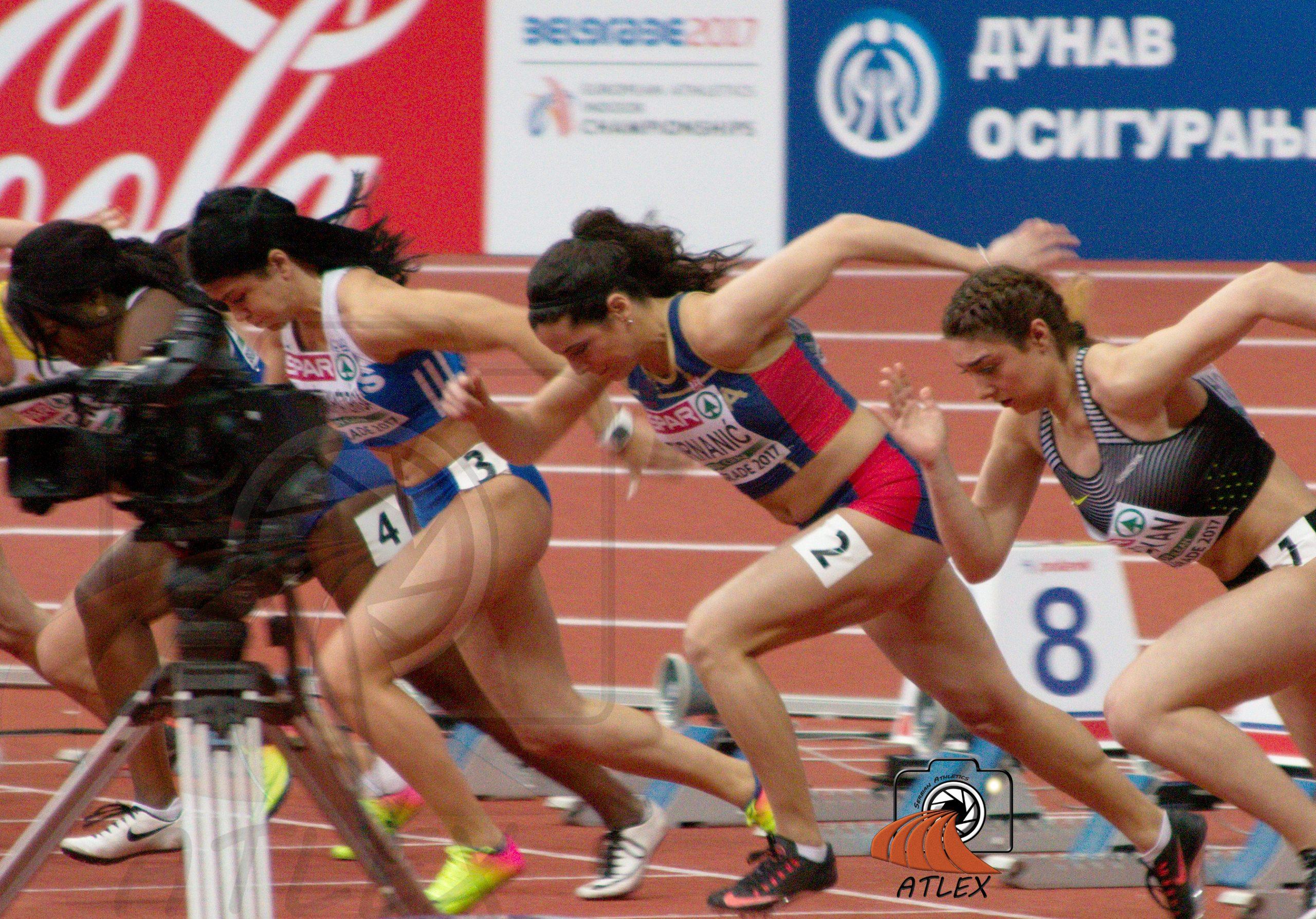 Milana Tirnanić, dvoransko Evropsko prvenstvo, Beograd 2017