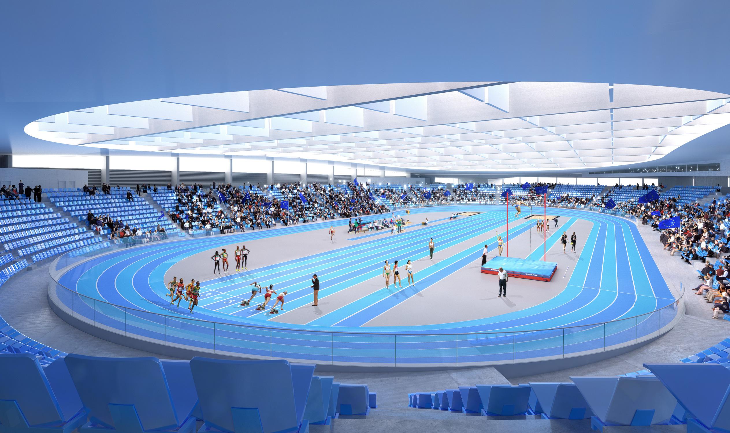 Miramas Stadium, Mediteranski šampionat