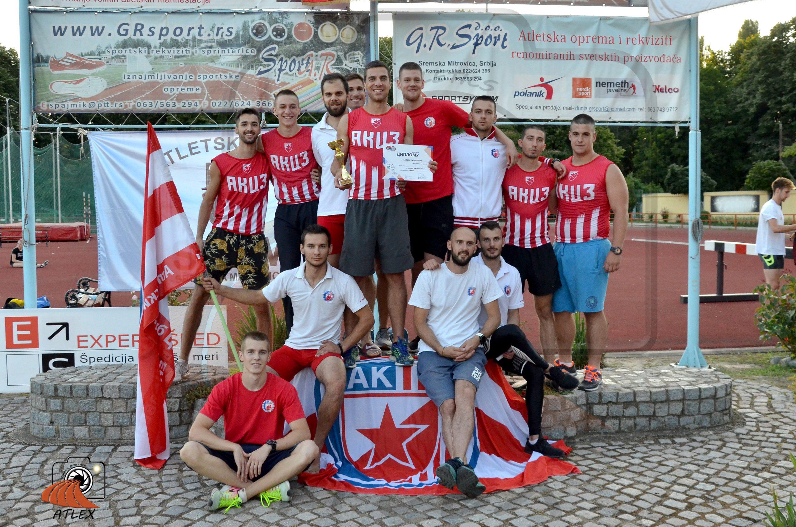 Muška ekipa Crvene zvezde prvak Srbije za 2019.