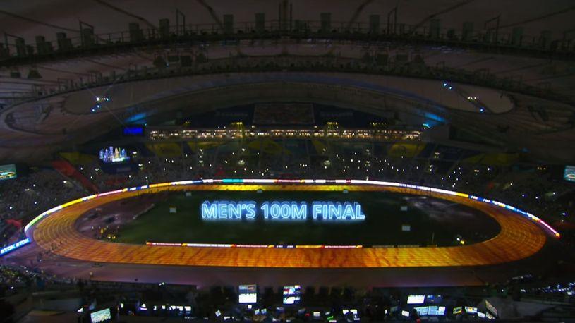 Najava finala na 100 metara, Doha 2019