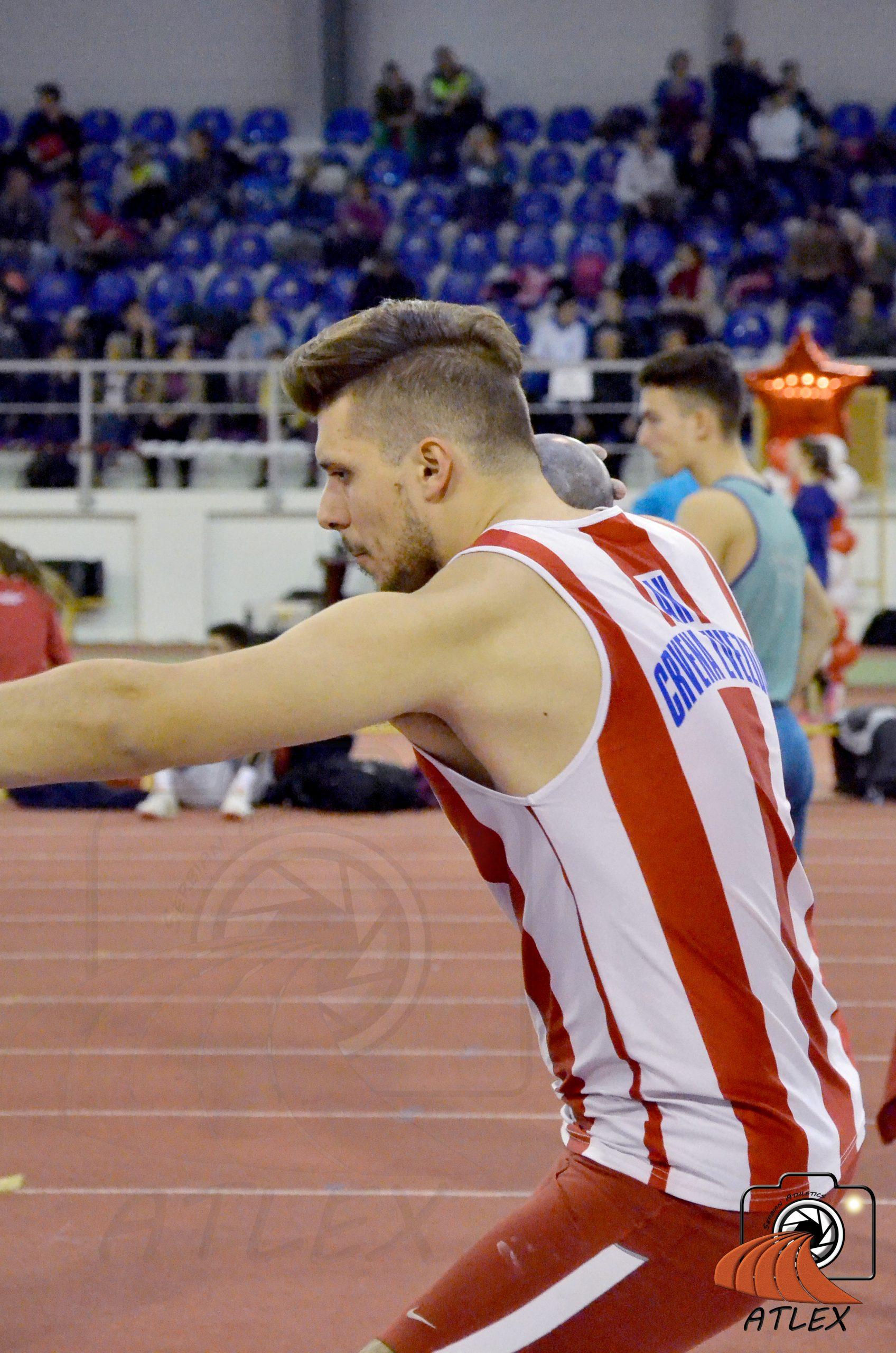 Novogodišnji mitinga AK Crvene zvezde, Marko Perić