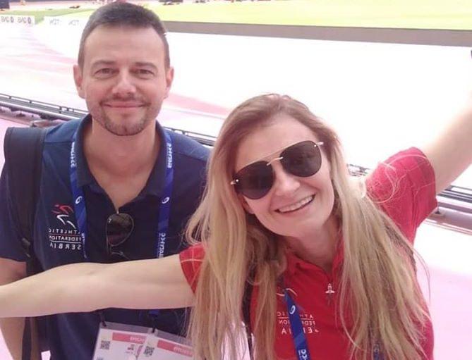 PredragMomirović i Biljana Daničić, Doha 2019