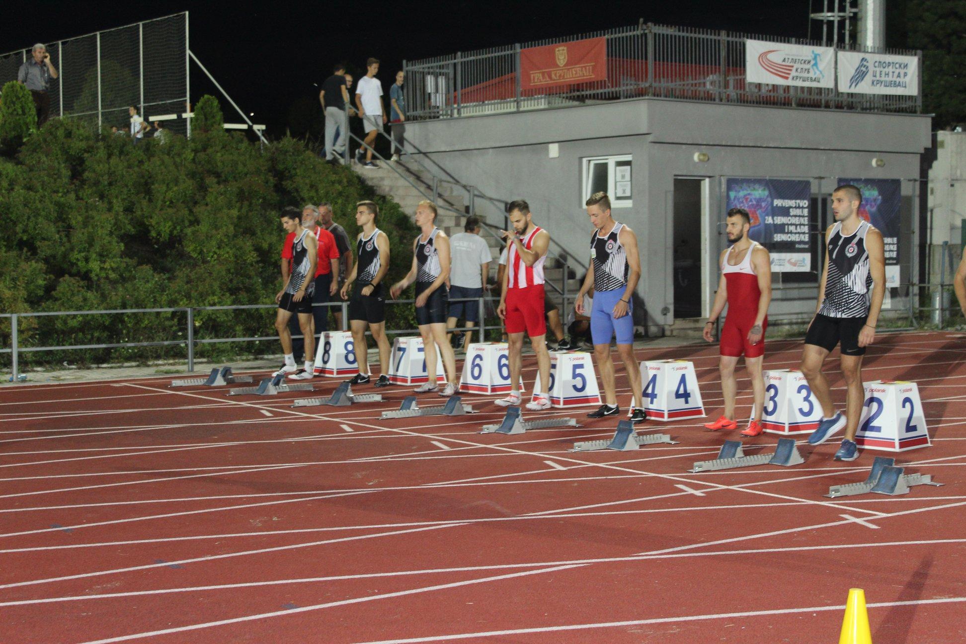 Prvenstvo Srbije 2019 100m muškarci finale