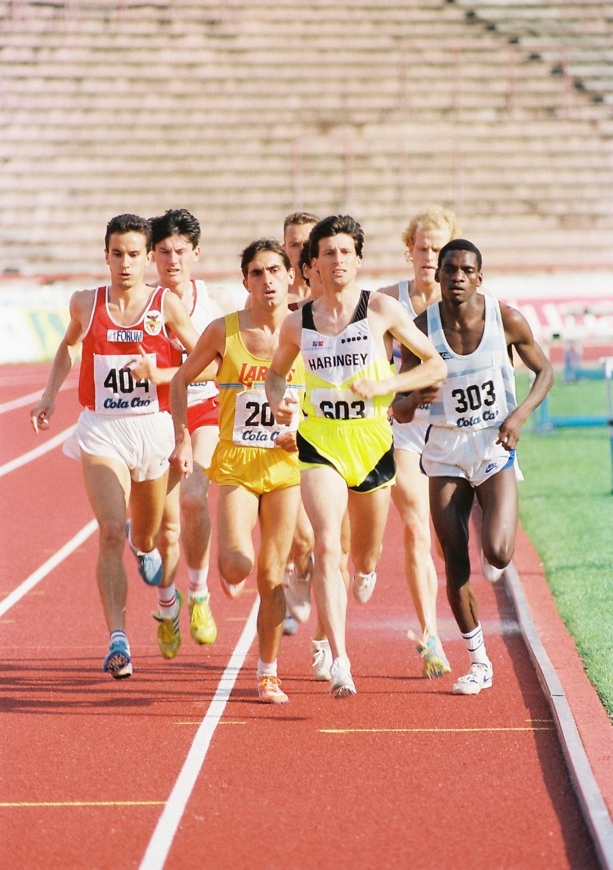 Sebastian Kou na Marakani trka na 1500m
