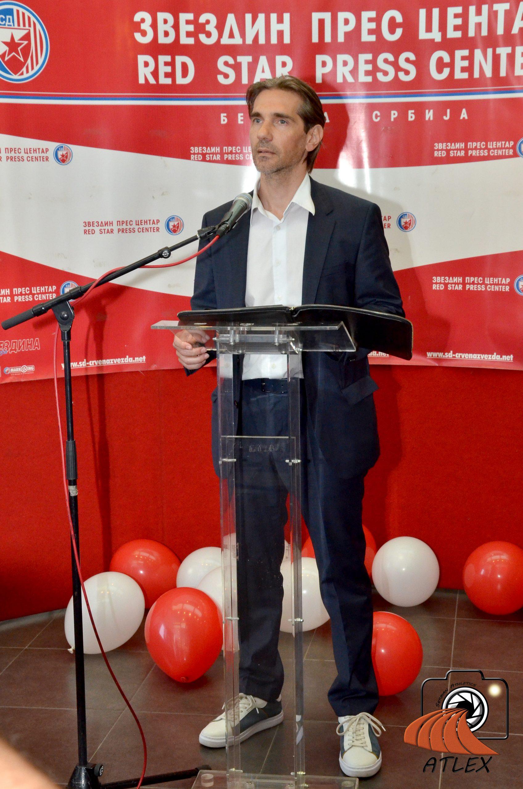 Srđan Rašković predsednik AK Crvena zvezda
