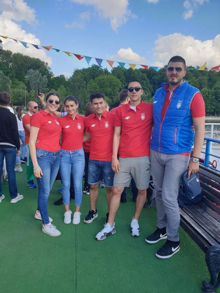 Srpska delegacija mladih sportista u Moskvi na seminaru antidoping agencije Rusije