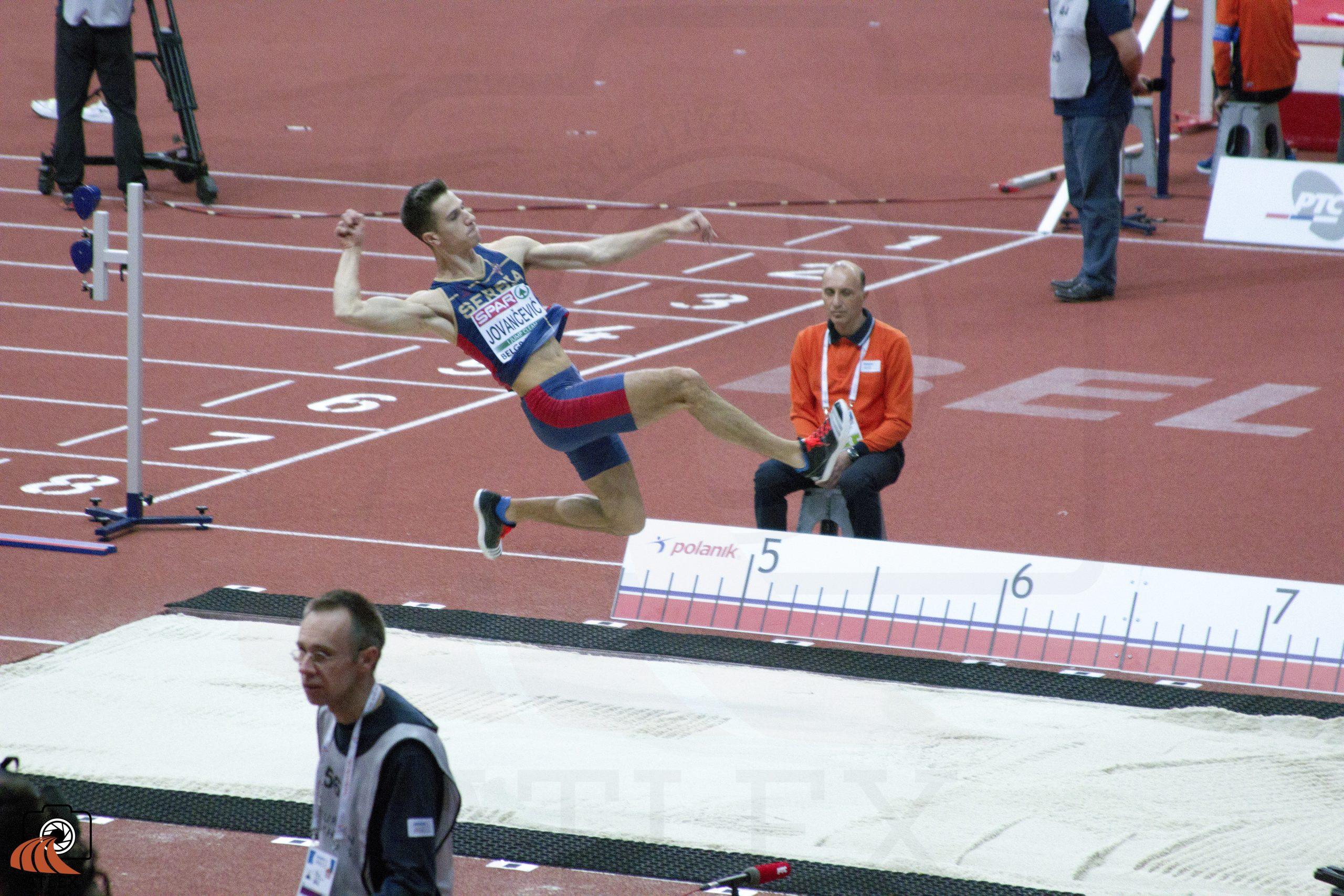 Strahinja Jovančević, dvoransko Evropsko prvenstvo 2017, Beograd