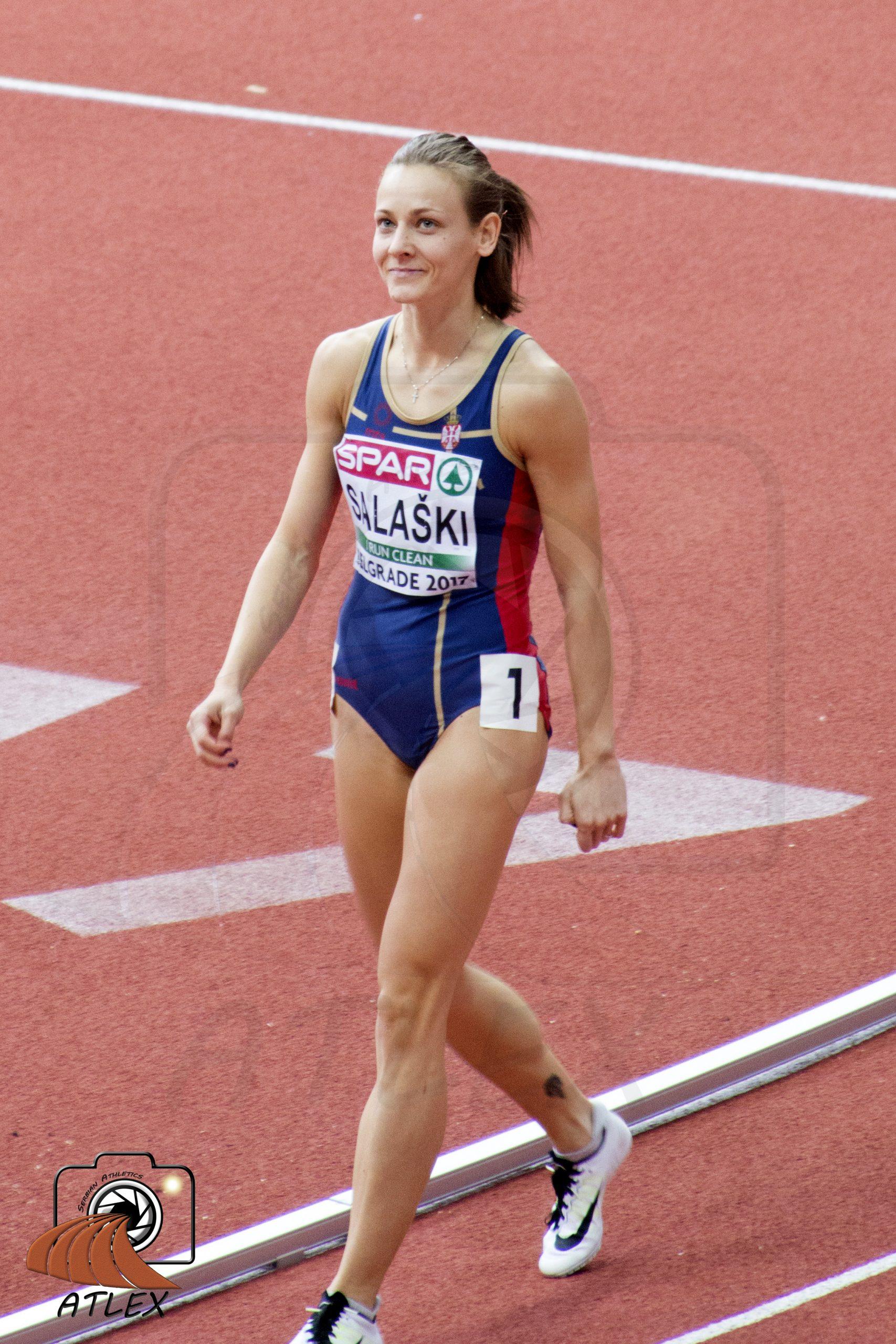 Tamara Salaški, dvoransko Evropsko prvenstvo, Beograd 2017
