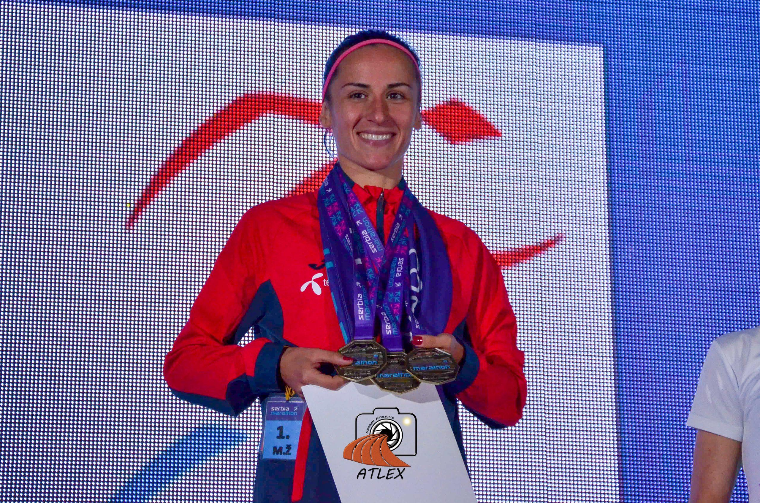 Teodora Simović trostruki prvak Serbia Marathon-a