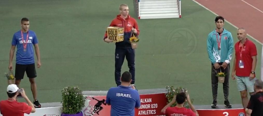 Tihomir Đorđević prvak Balkanijade za juniore na 400m sa preponama