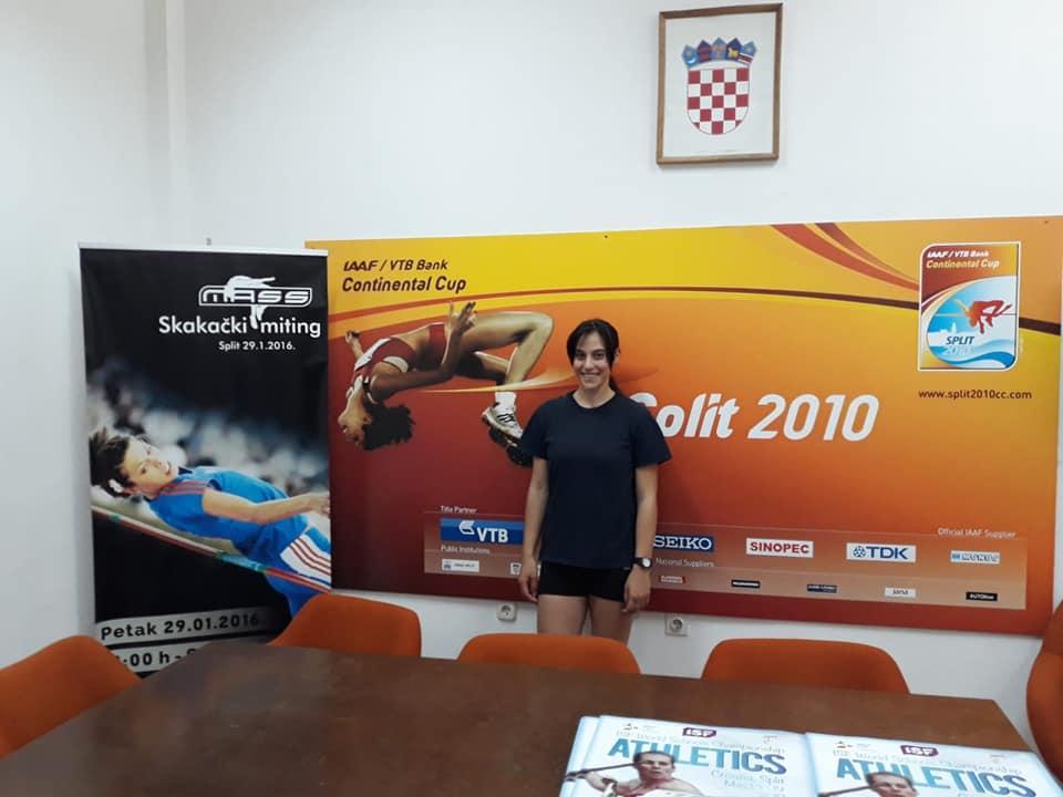 Adriana Vilagoš u ASK Split
