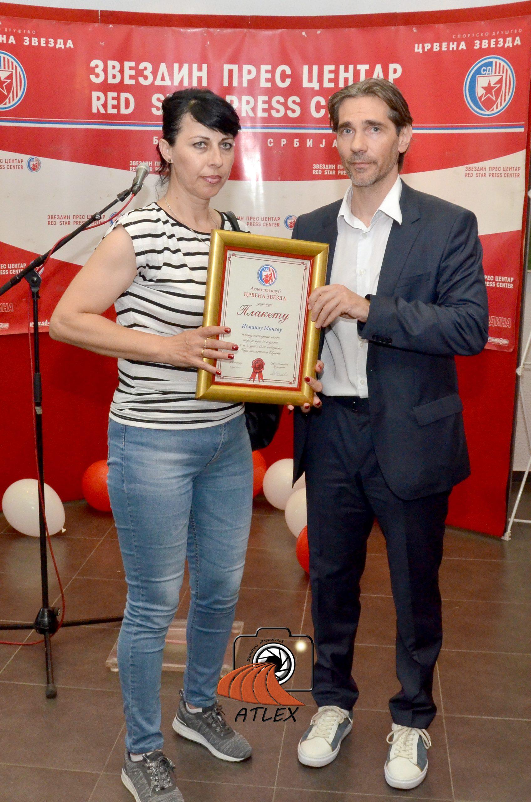 Vukica Mačev, supruga Ismail Mačeva, član šampionske generacije