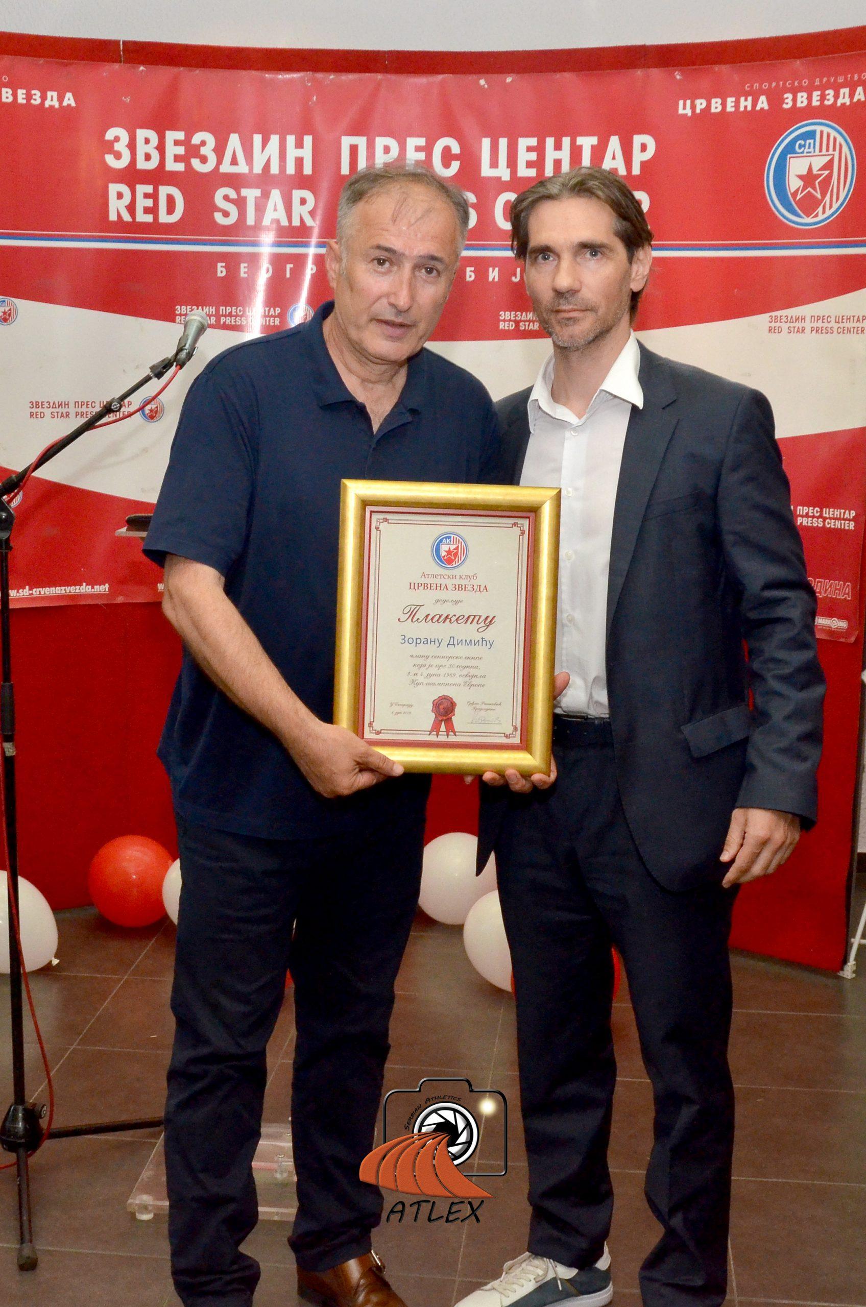 Zoran Dimić, supruga Ismail Mačeva, član šampionske generacije