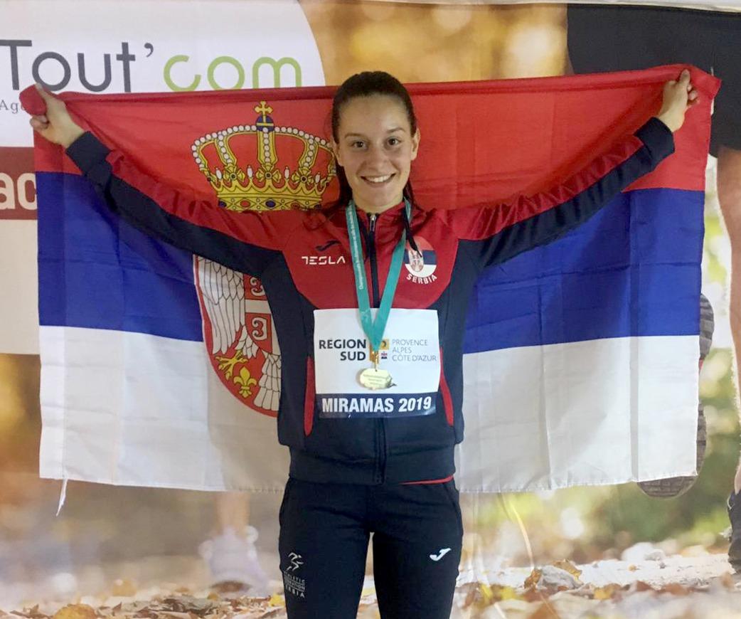 Anja Lukić šampion U23 dvoranskog Mediteranskog šampionata