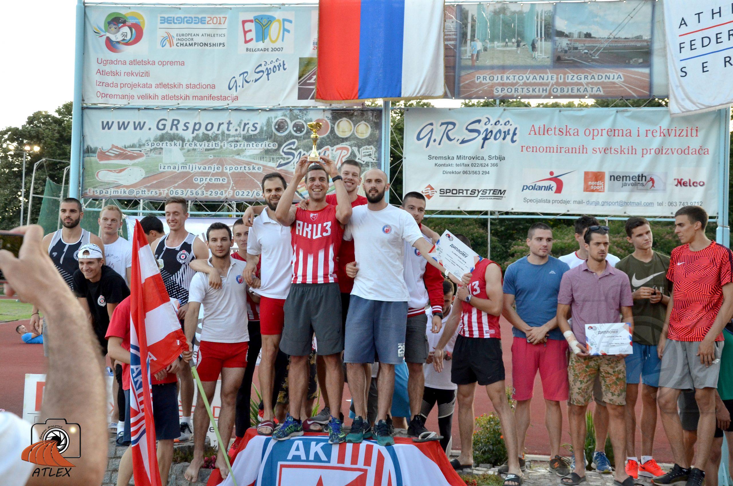 Ekipmno prvenstvo Srbije 2019, muškarci, šampion Crvena zvezda
