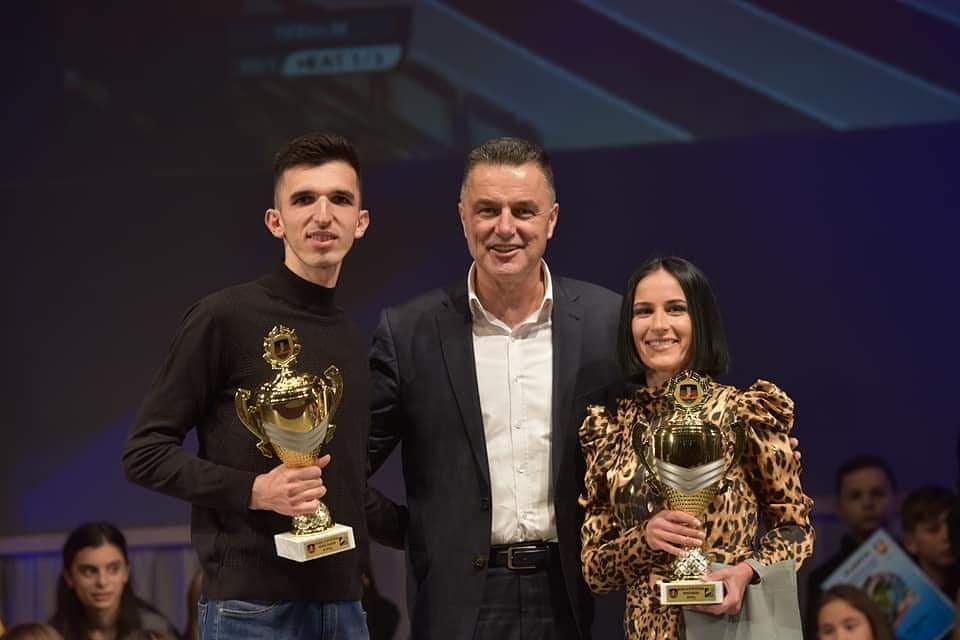 Elzan Bibić i Teodora Simović, najbolji sportisti Novog Pazara 2019.