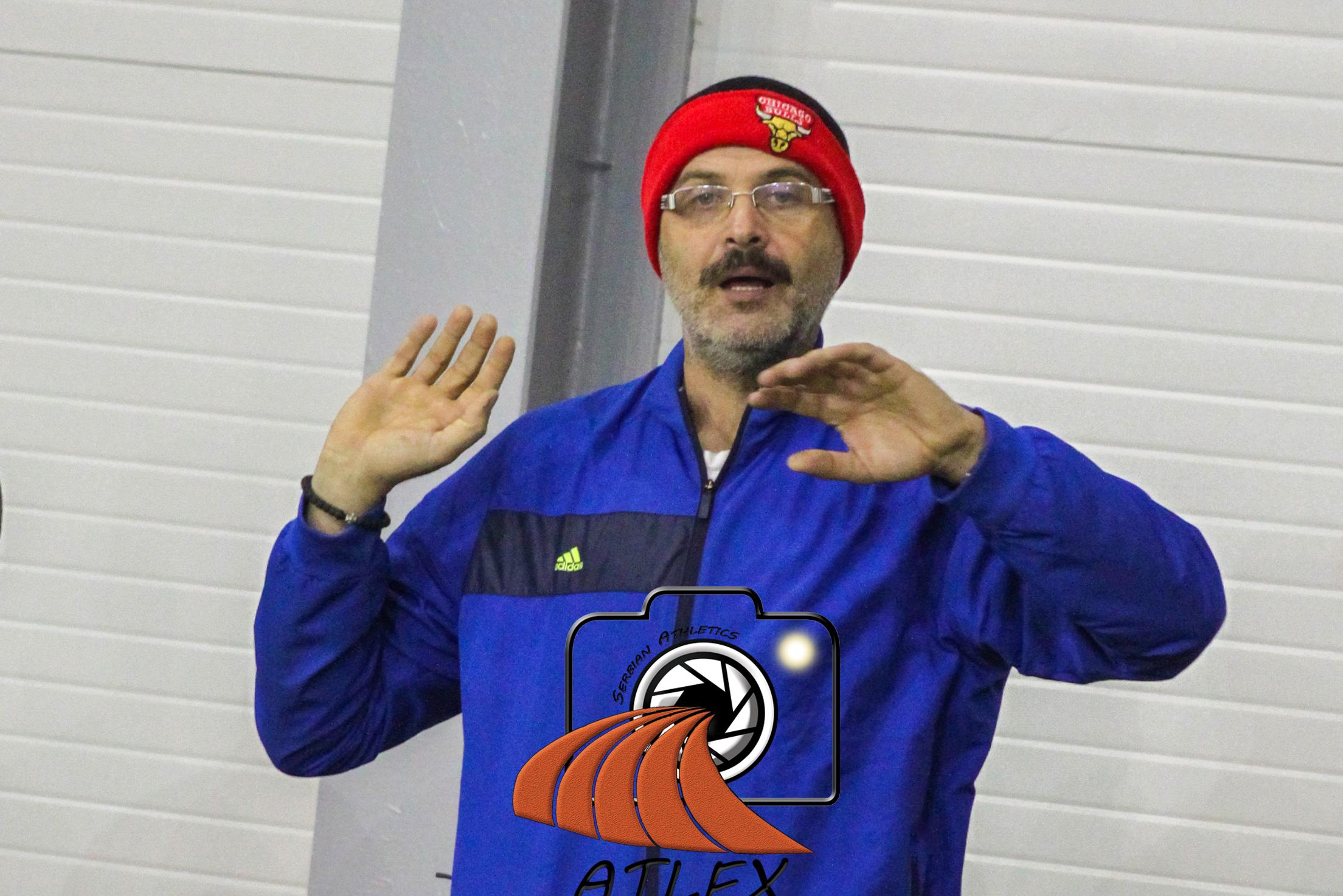 Goran Radoja, trener AK Mladost Zemun