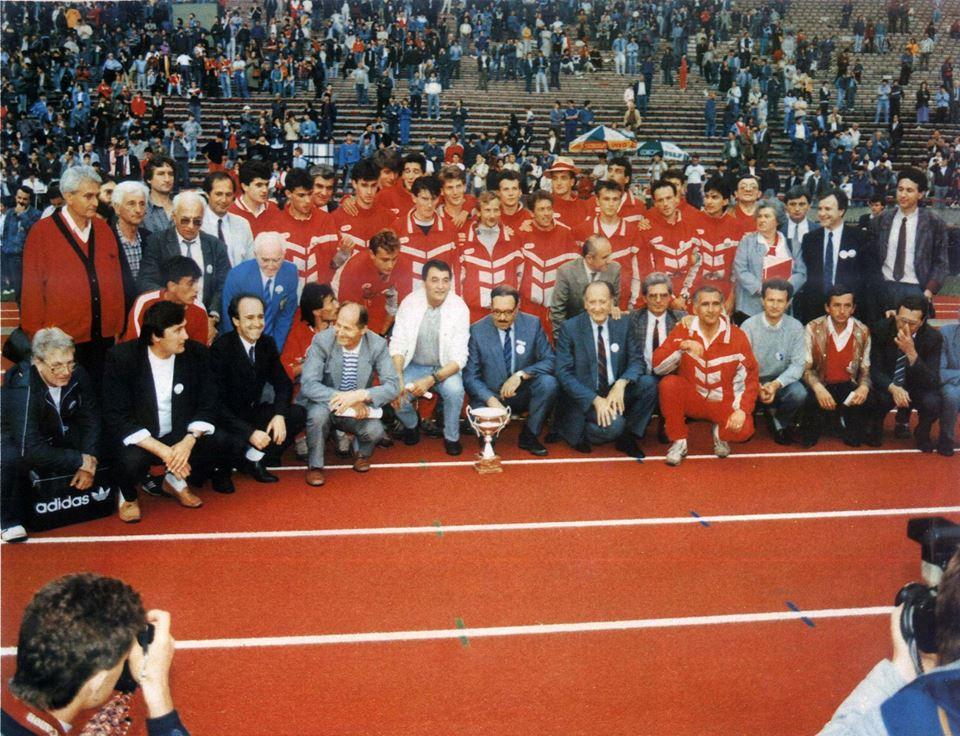 AK Crvena zvezda osvajač Kupa šampiona 1989.