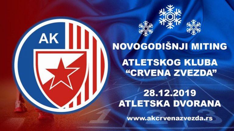 Novogodišnji miting AK Crvena zvezda