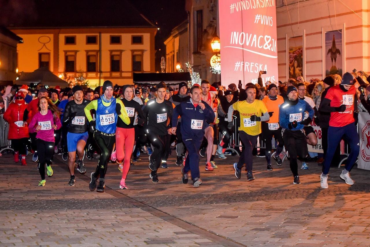 Start 42. Novogodišnje trke u Varaždinu