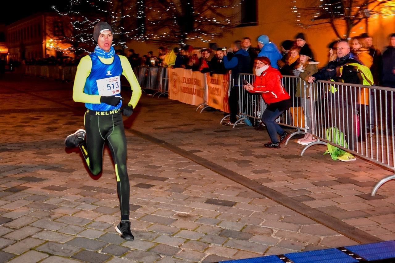 Jan Kokalj pobednik 42. Novogodišnje trke u Varaždinu