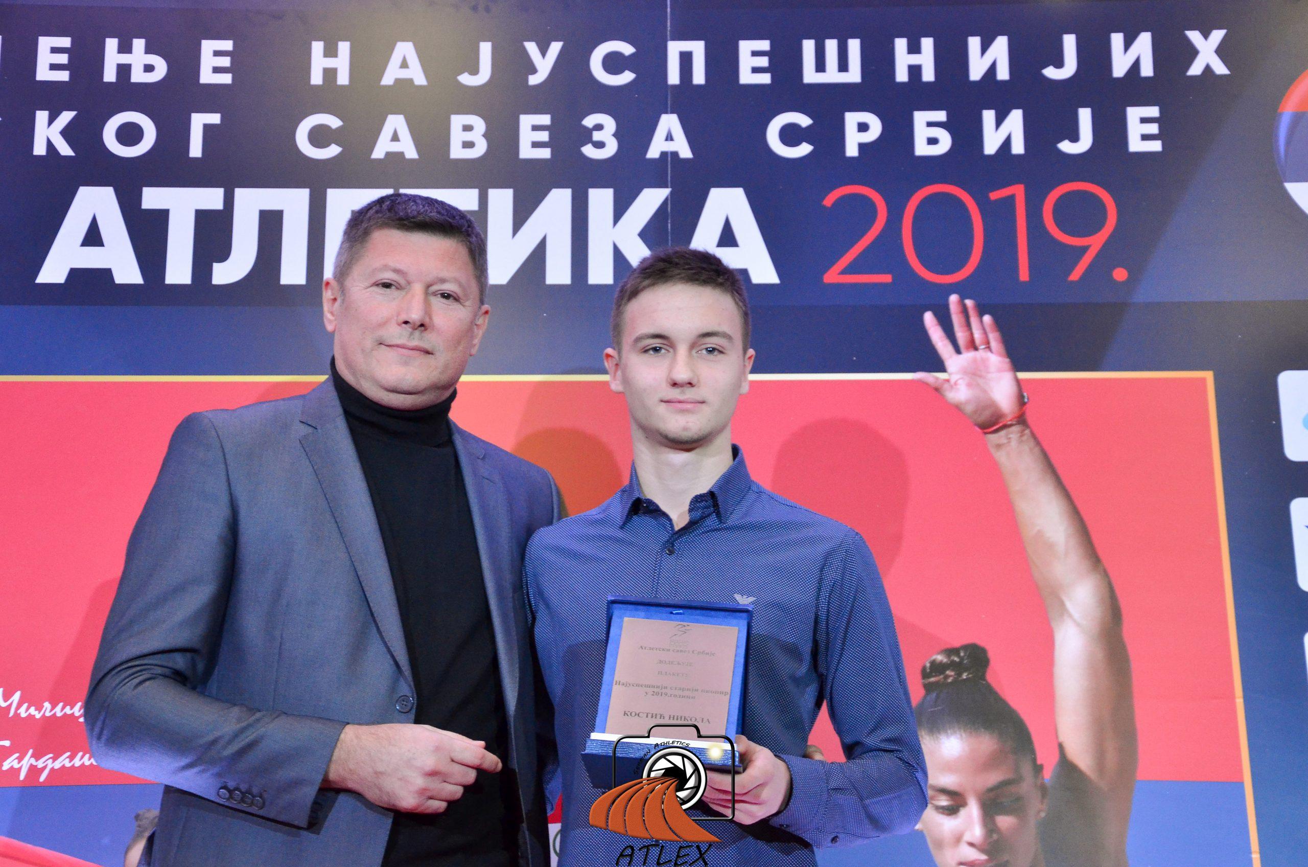 Nikola Kostić, najbolji pionir Srbije u 2019.