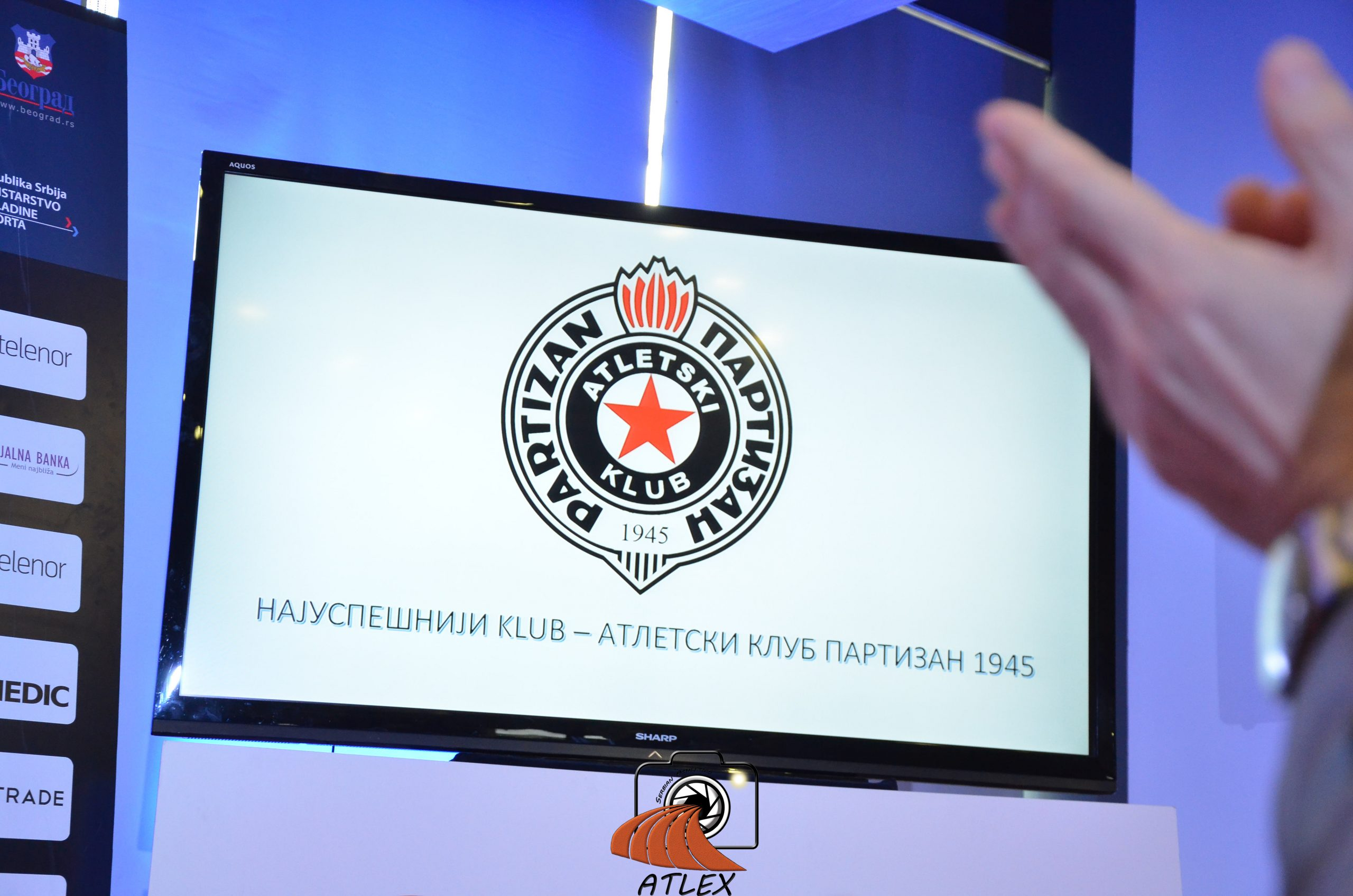AK Partizan 1945 - Najuspešniji atletski klub u Srbiji u 2019.