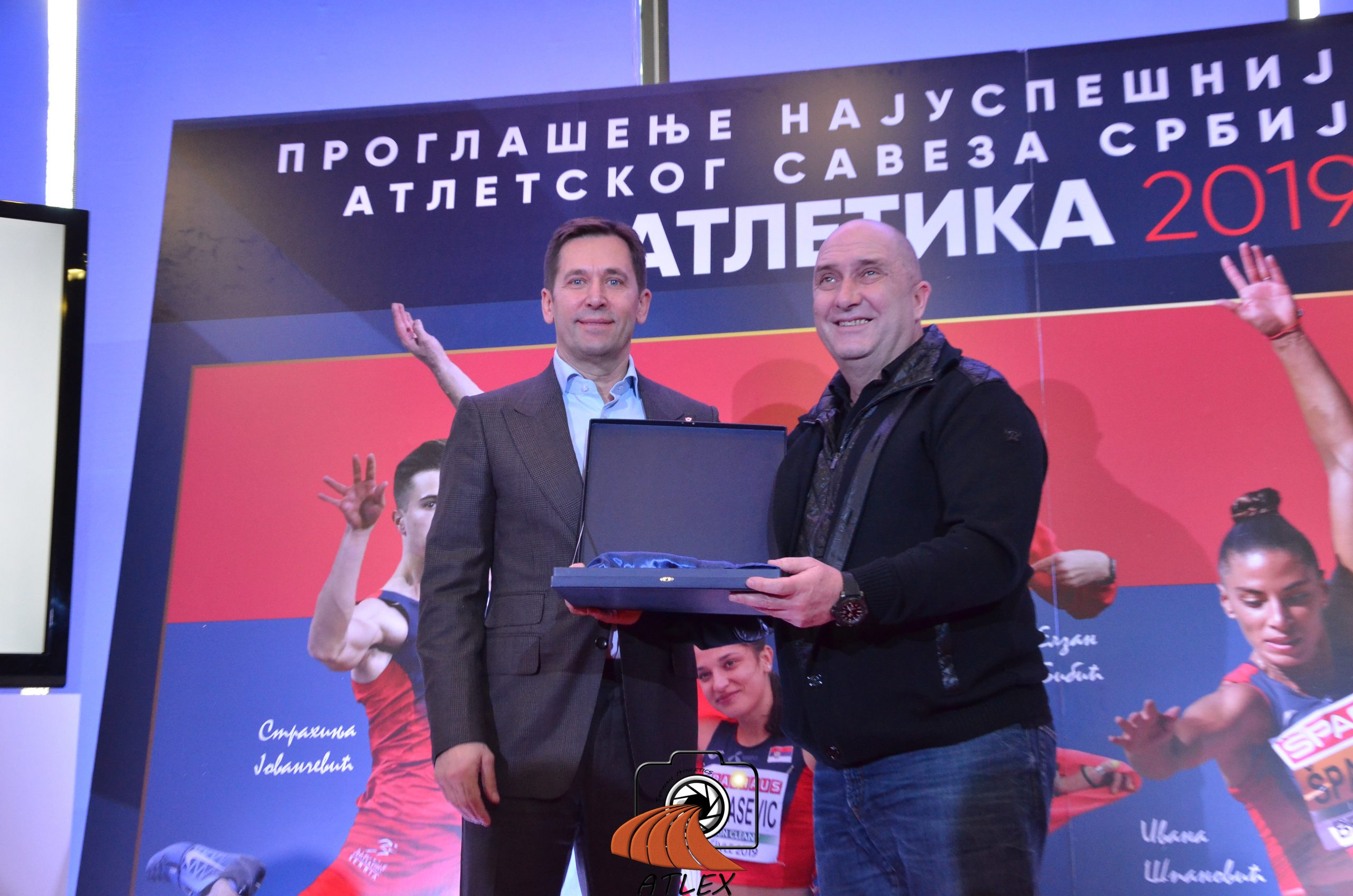 Milan Pavlović Mane, generalni direktor Partizana 1945 prima priznanje za najbolji klub u Srbiji za 2019.