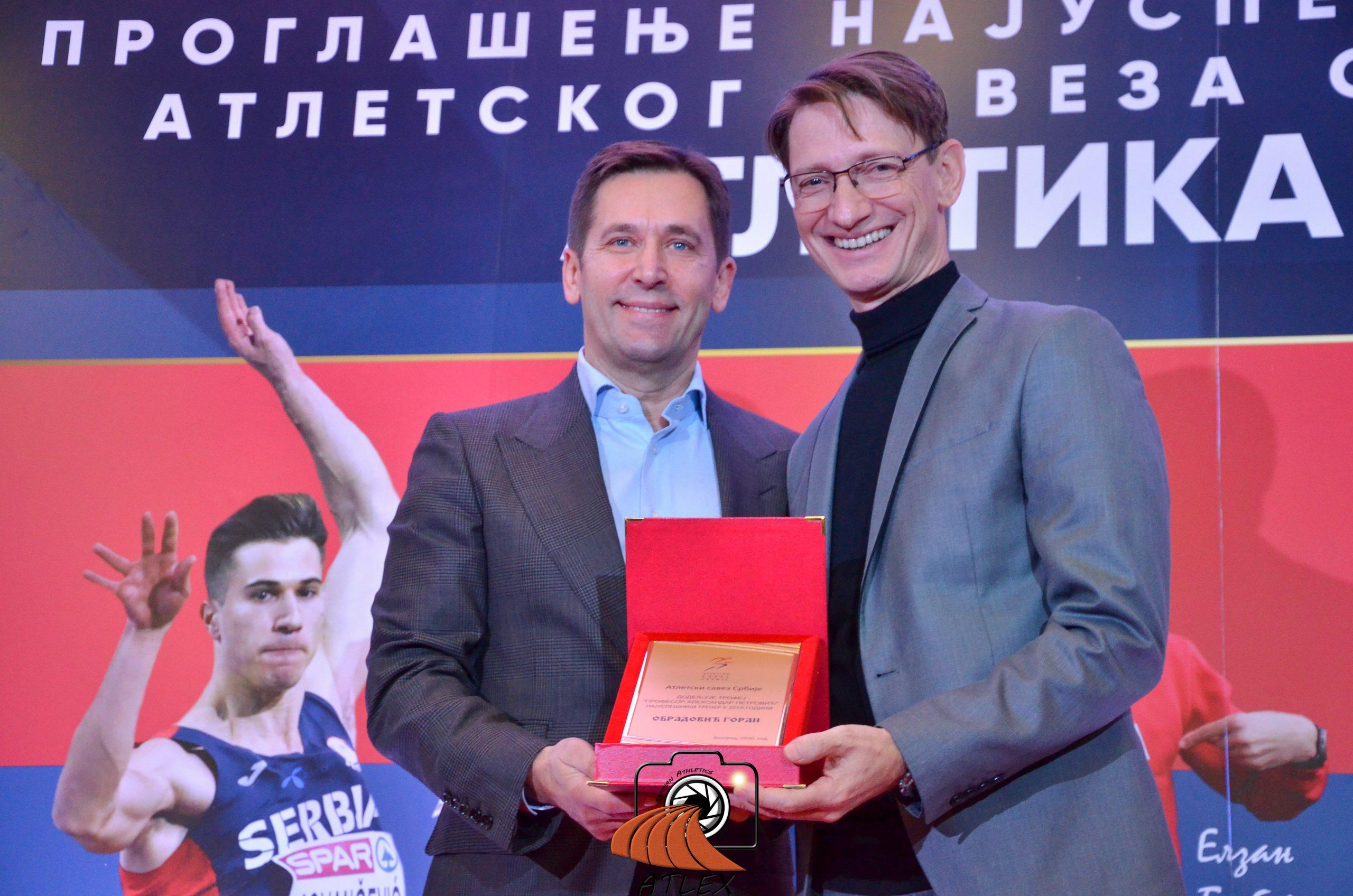 Goran Obradović najbolji atletski trener u 2018. godini