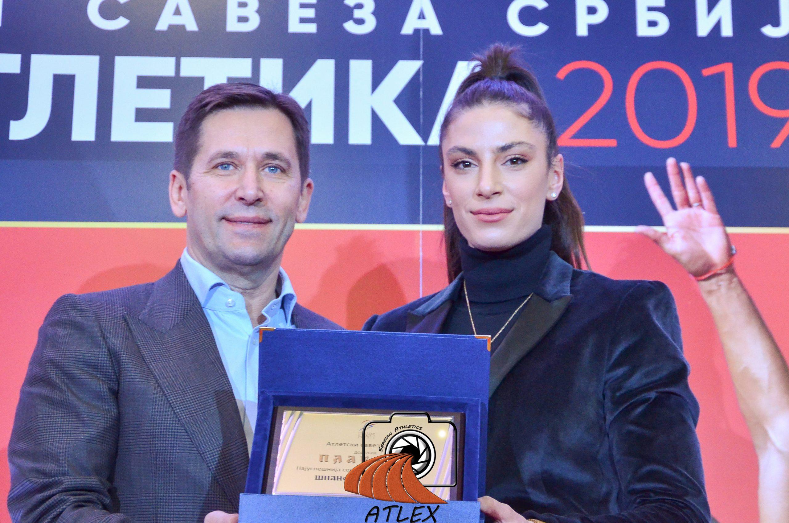 Ivana Španović, najbolja saeniorka Srbije u 2019
