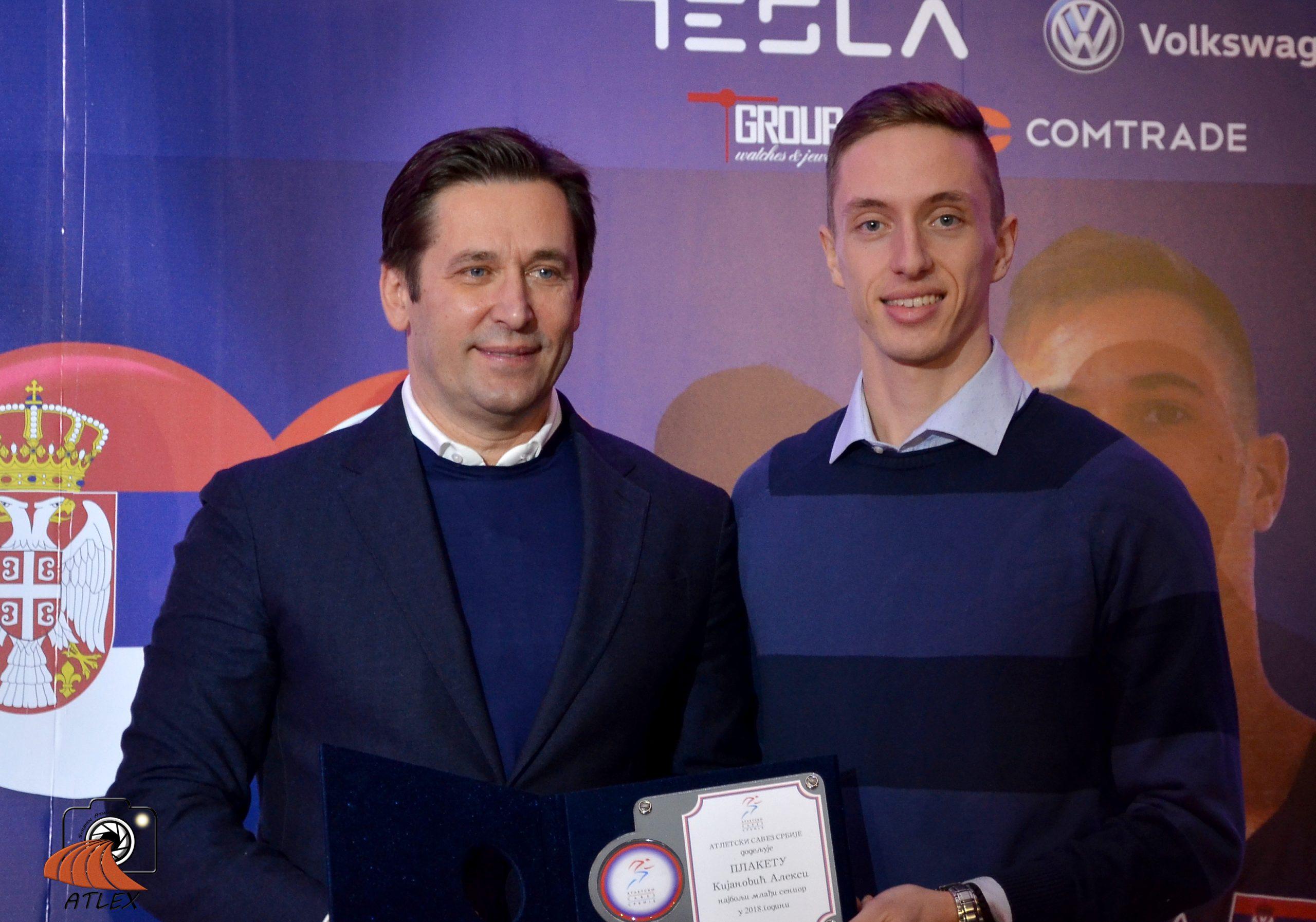 Aleksa Kijanović, najbolji mlađi senior Srbije u 2018.