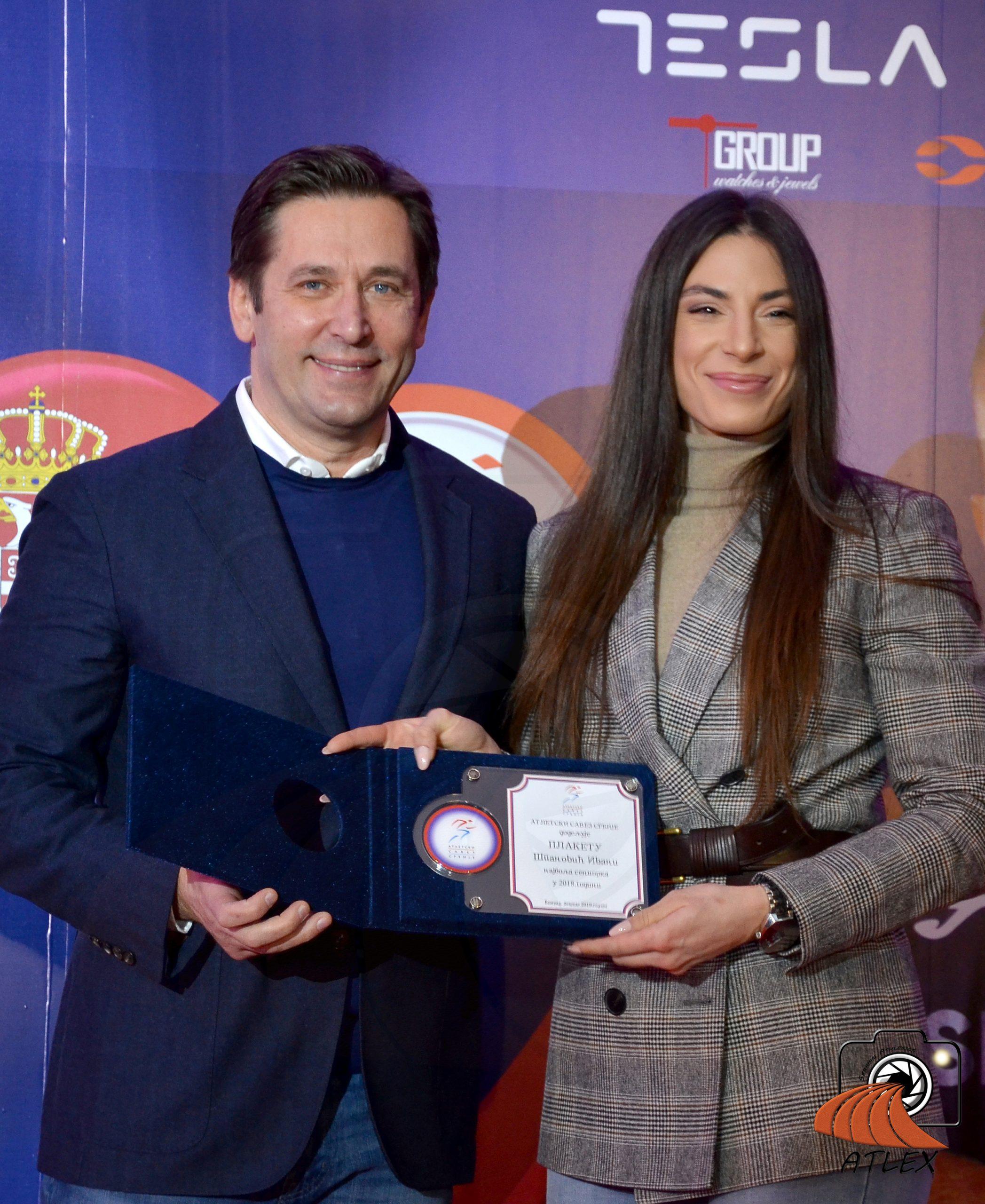 Ivana Španović, najbolja saeniorka Srbije u 2018.