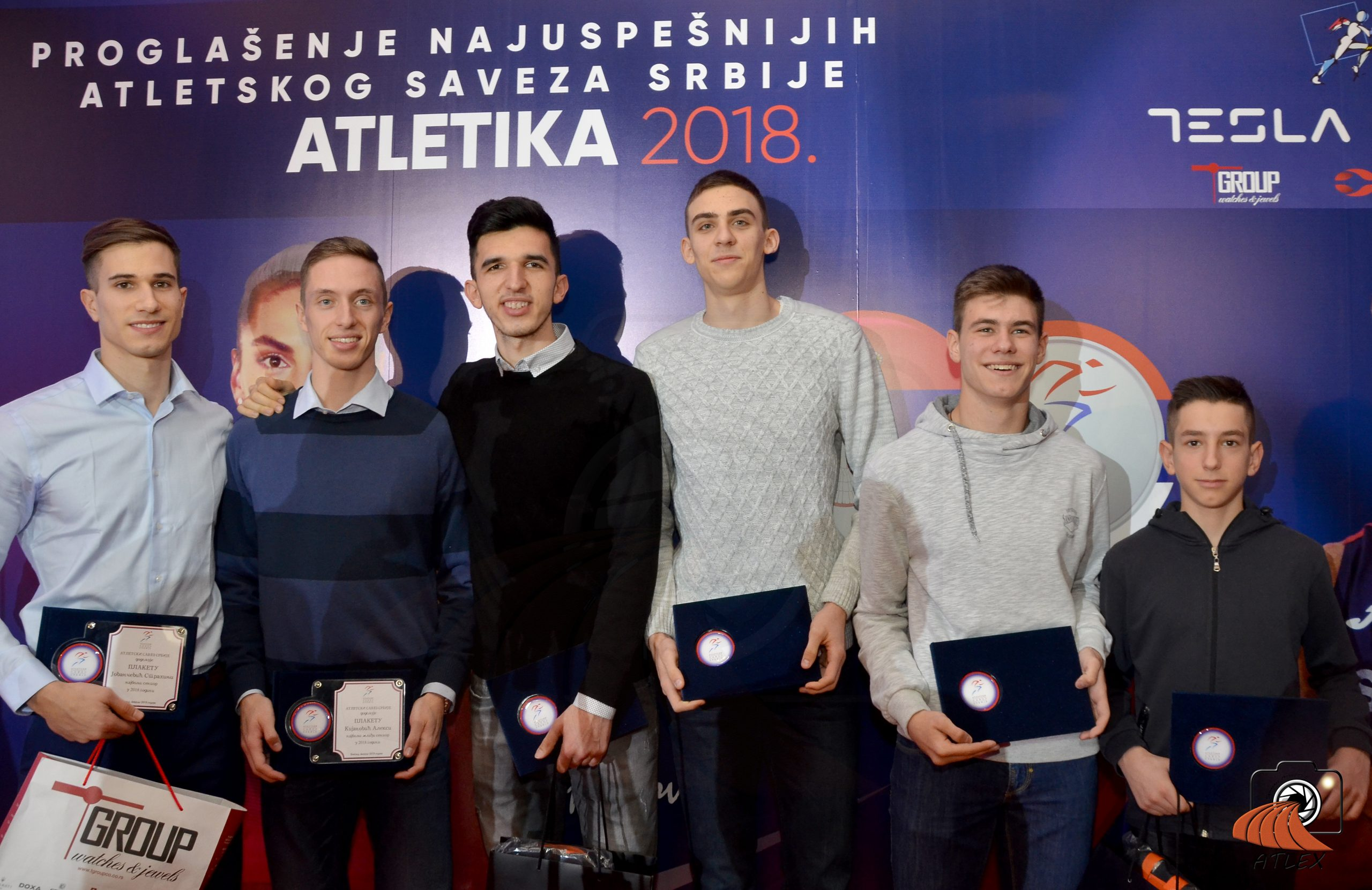 Najbolji atletičari Srbije u 2018. godini