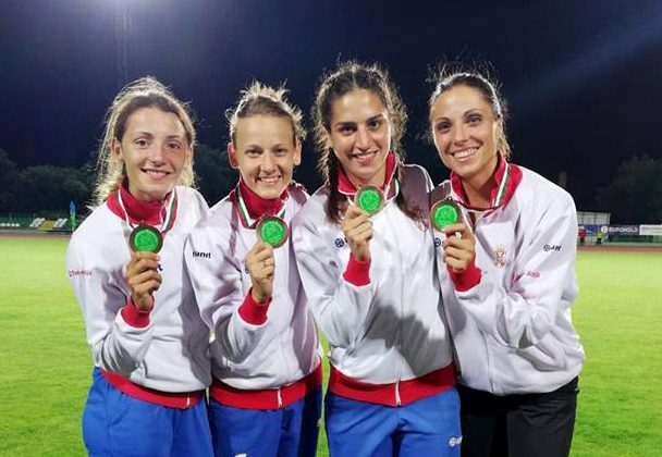 Štafeta 4x400m državni rekorder, Balkanijada 2018