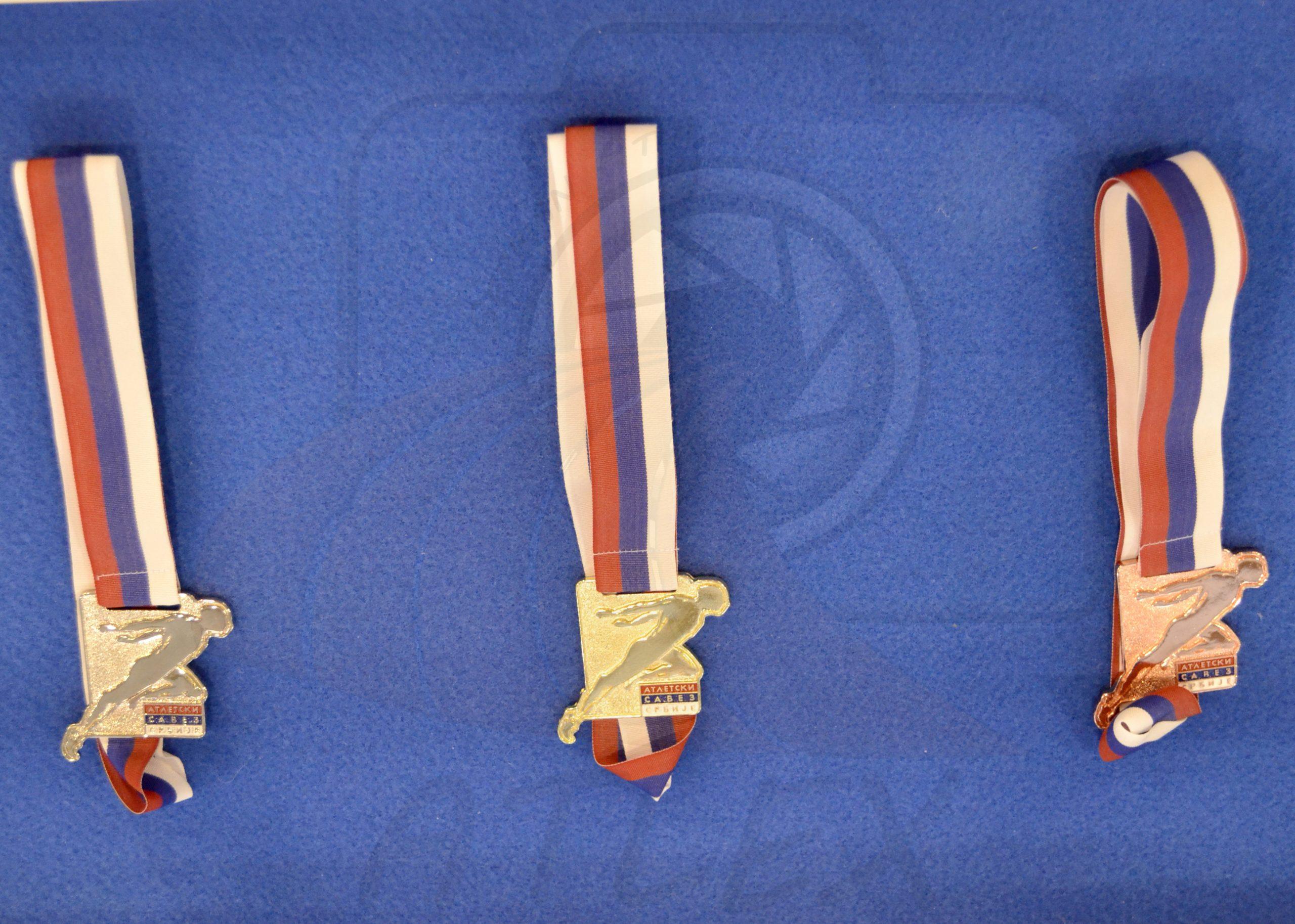 Medalje prvaka Srbije 2019