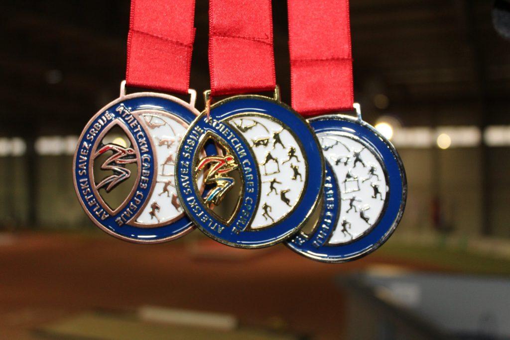 Medalje prvaka Srbije 2020