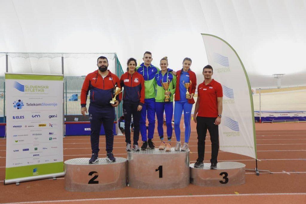 Tromeč Srbija, Slovenija, Hrvatska u atletici