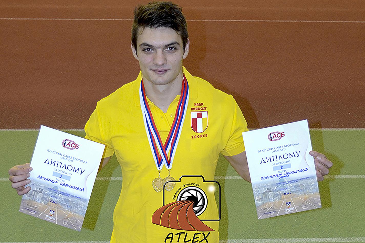 Zvonimir Ivašković (Hrvatska), dvostruki prvak Beograda 2017. godine