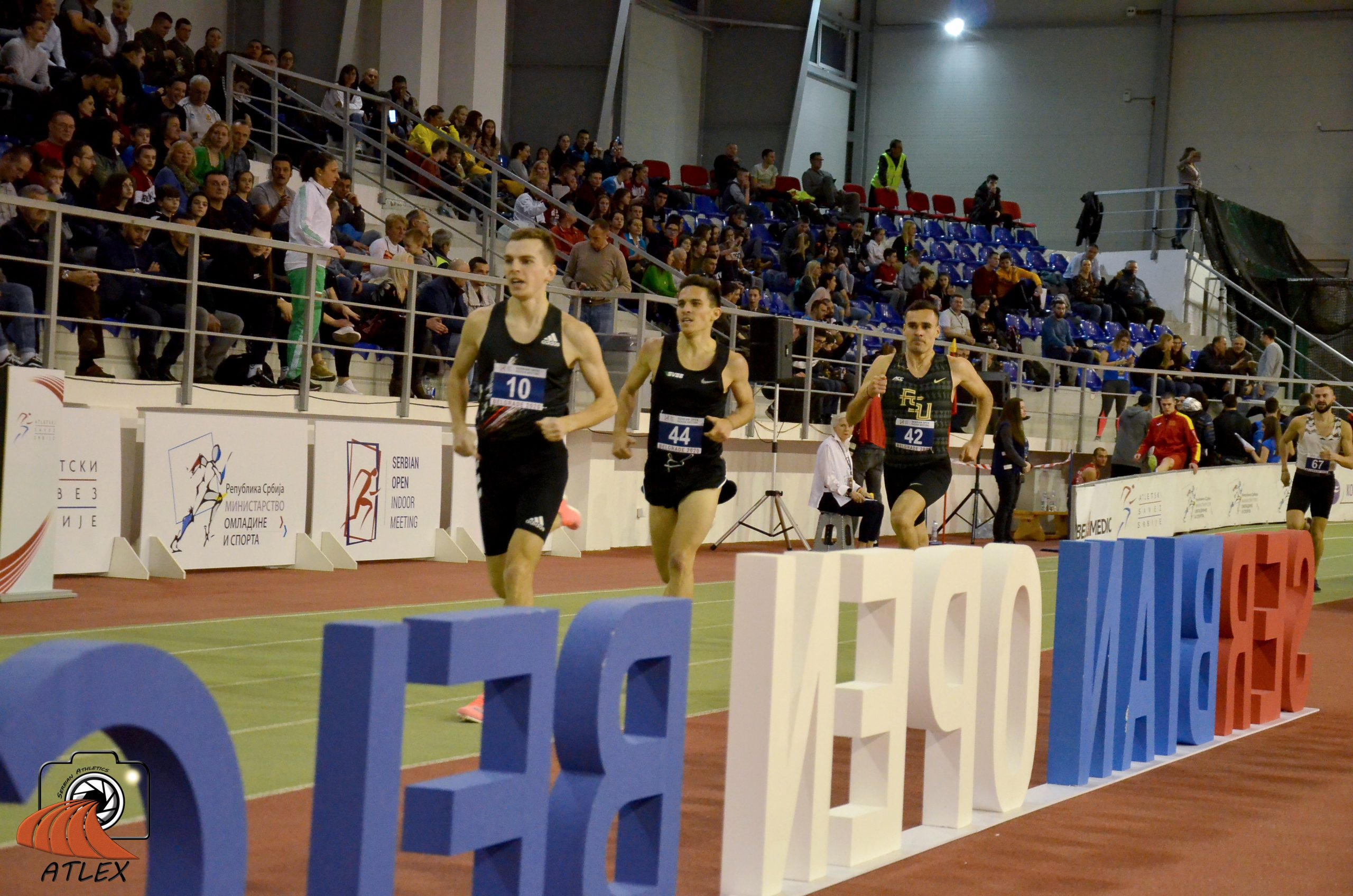 Simas Bertašius, Gergo Kiš i Ištvan Sogij, 5. ''Serbian open indoor meeting 2020