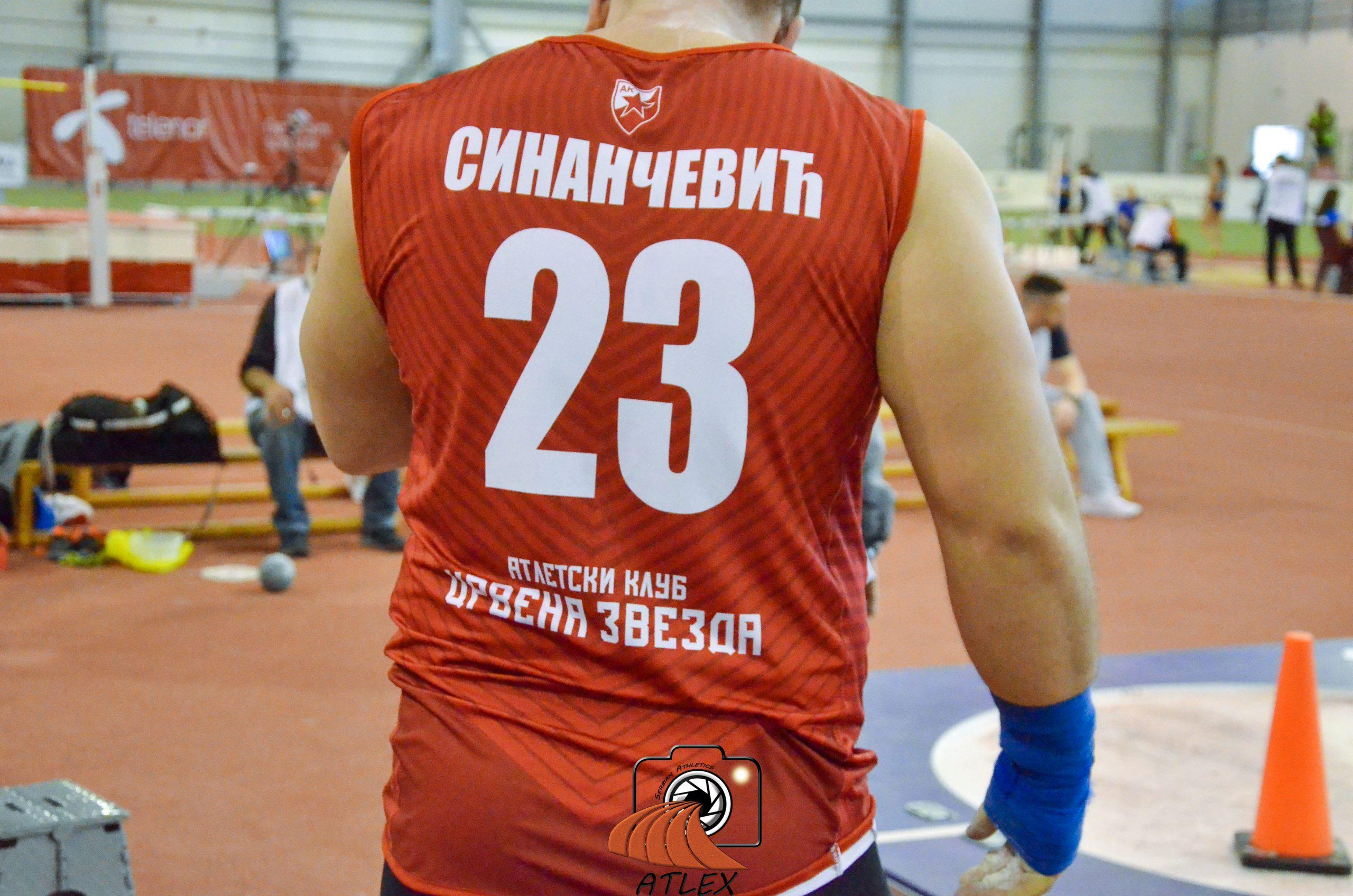 Armin Sinančević, Crvena zvezda 23