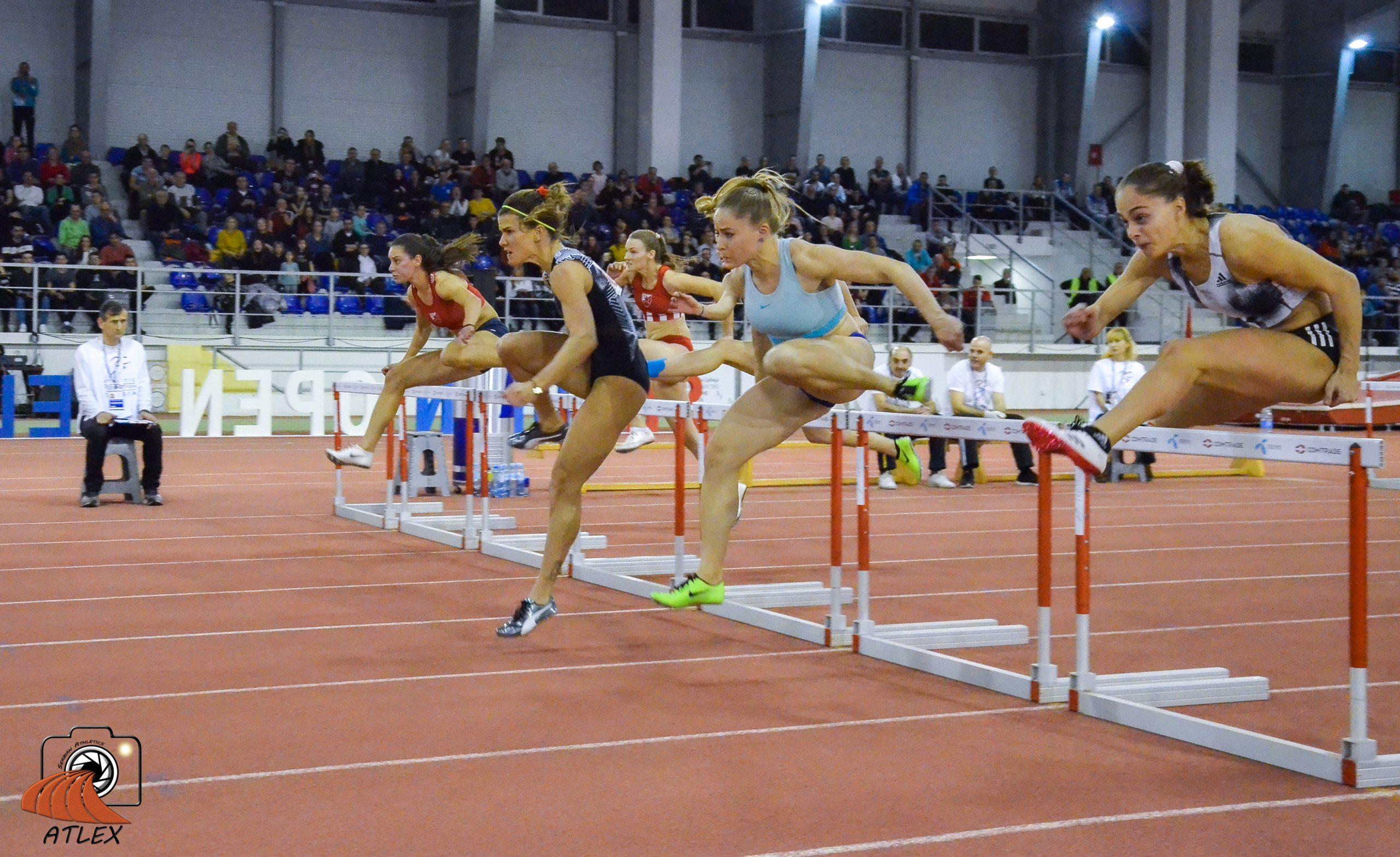 60 metara prepone žene, 5. Serbian Open 2020