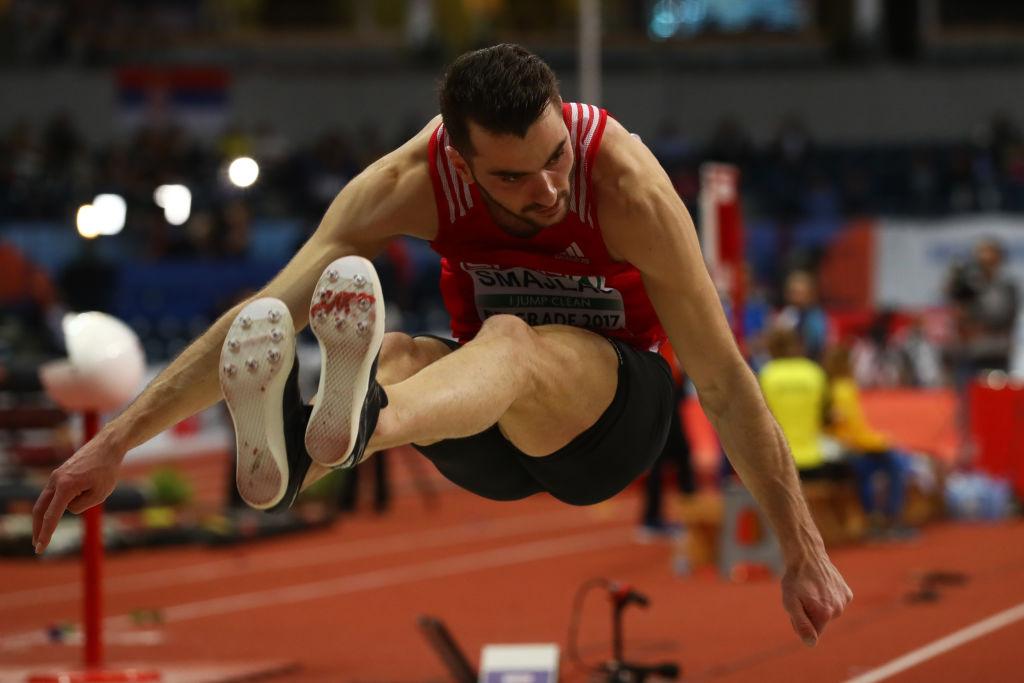 Izmir Smajlaj, skok udalj, dvoransko prvenstvo Evrope 2017, Beograd