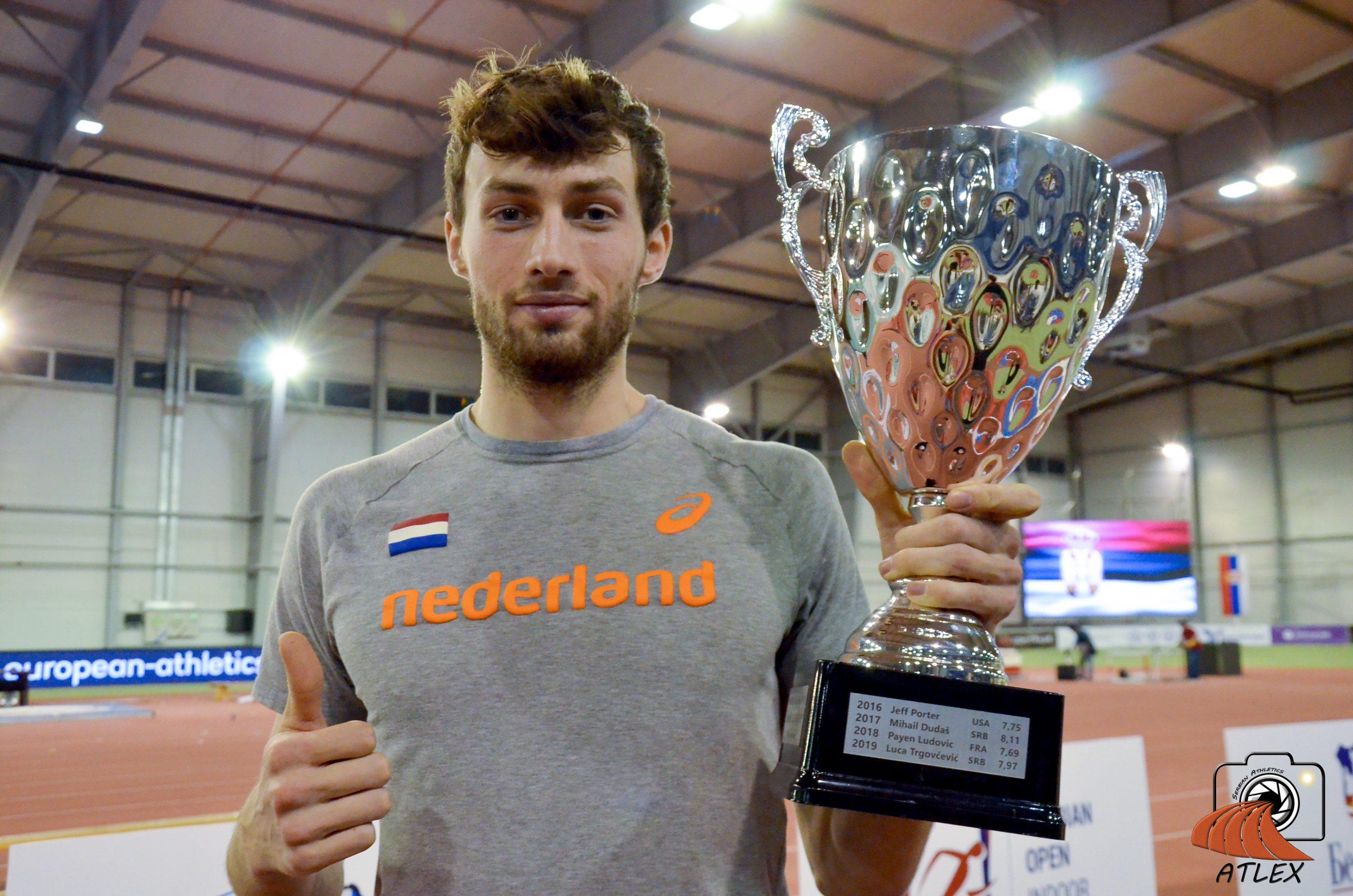Liam Van der Šaf, pobeddnik Memorijalne trke Borisav Pisic, 5. Serbian Open 2020
