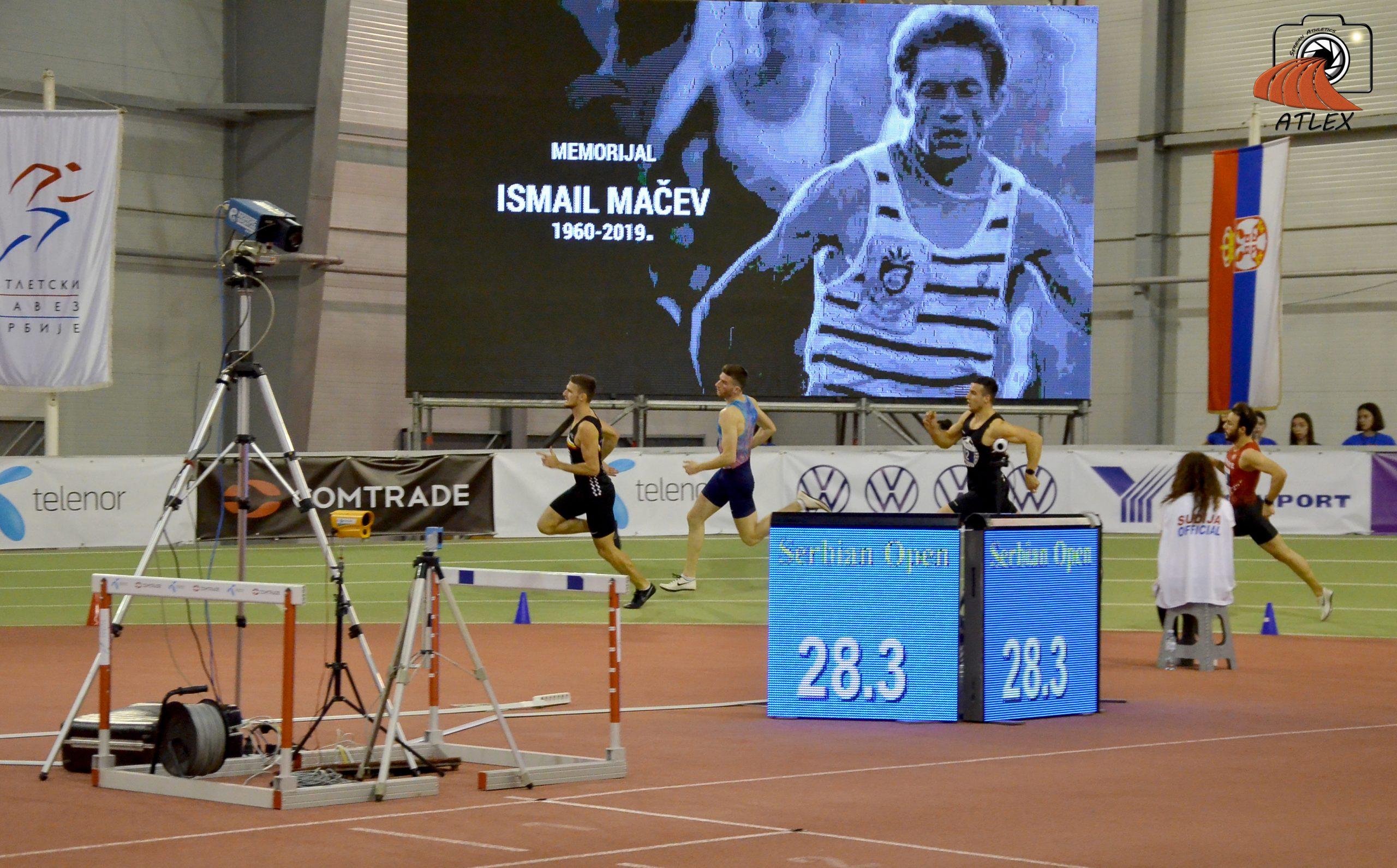 Memorijalna trka na 400 metara Ismail Mačev, Serbian Open 2020