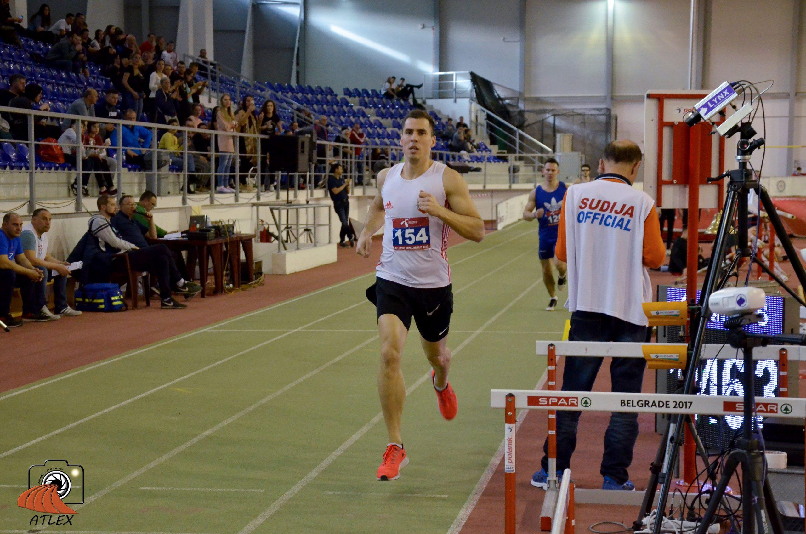 Mihail Dudaš, trka na 1000 metara