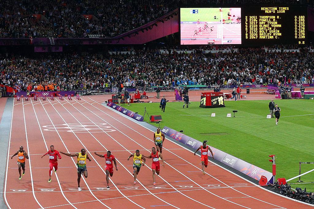 Jusein Bolt, Olimpijske igre Londomn 2012, finale 100m