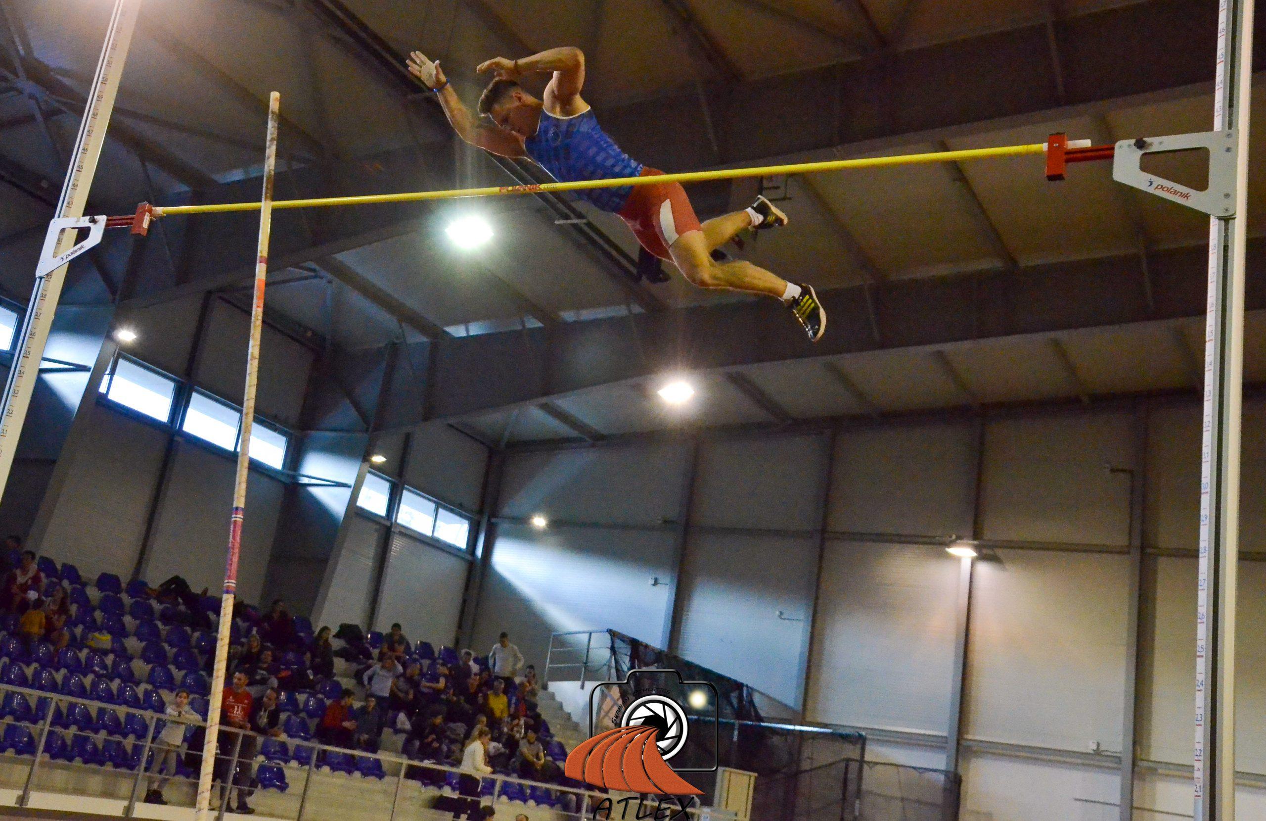 Aleksandar Grnović, skok motkom, Dvoransko prvenstvo Srbije