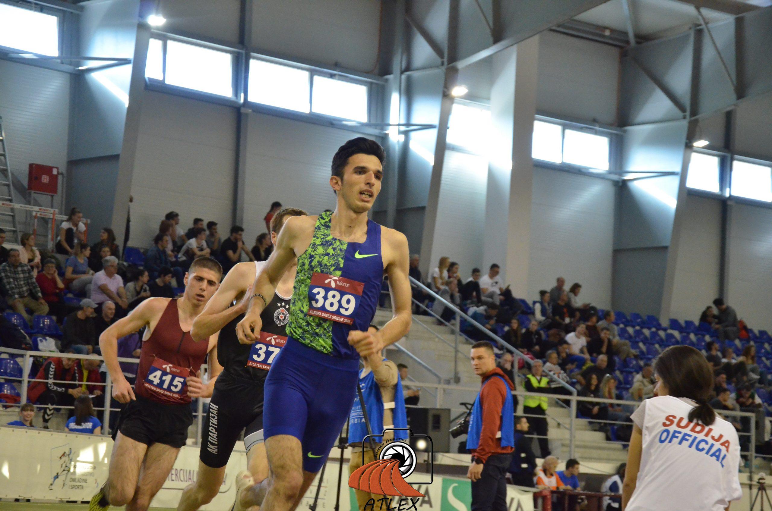 Elzan Bibić, 3000 metara, Dvoransko prvenstvo Srbije