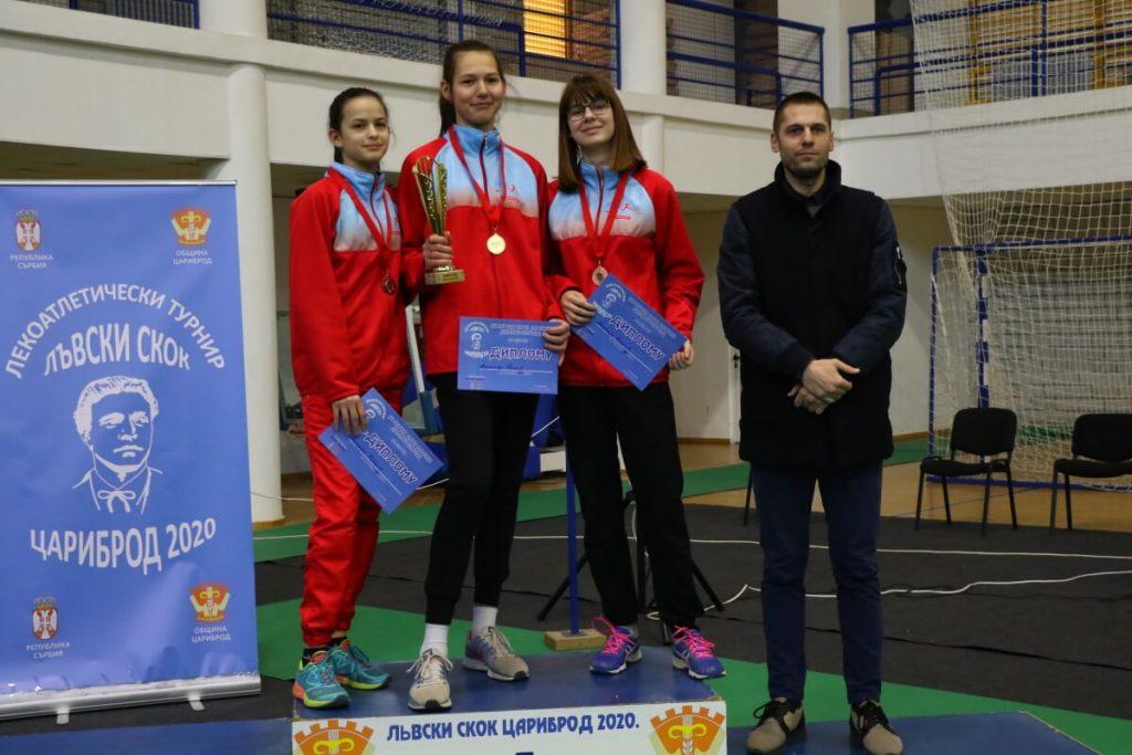 AK Top Jump, Skakački miting ''Lavlje srce'', Dimitrovgrad 2020